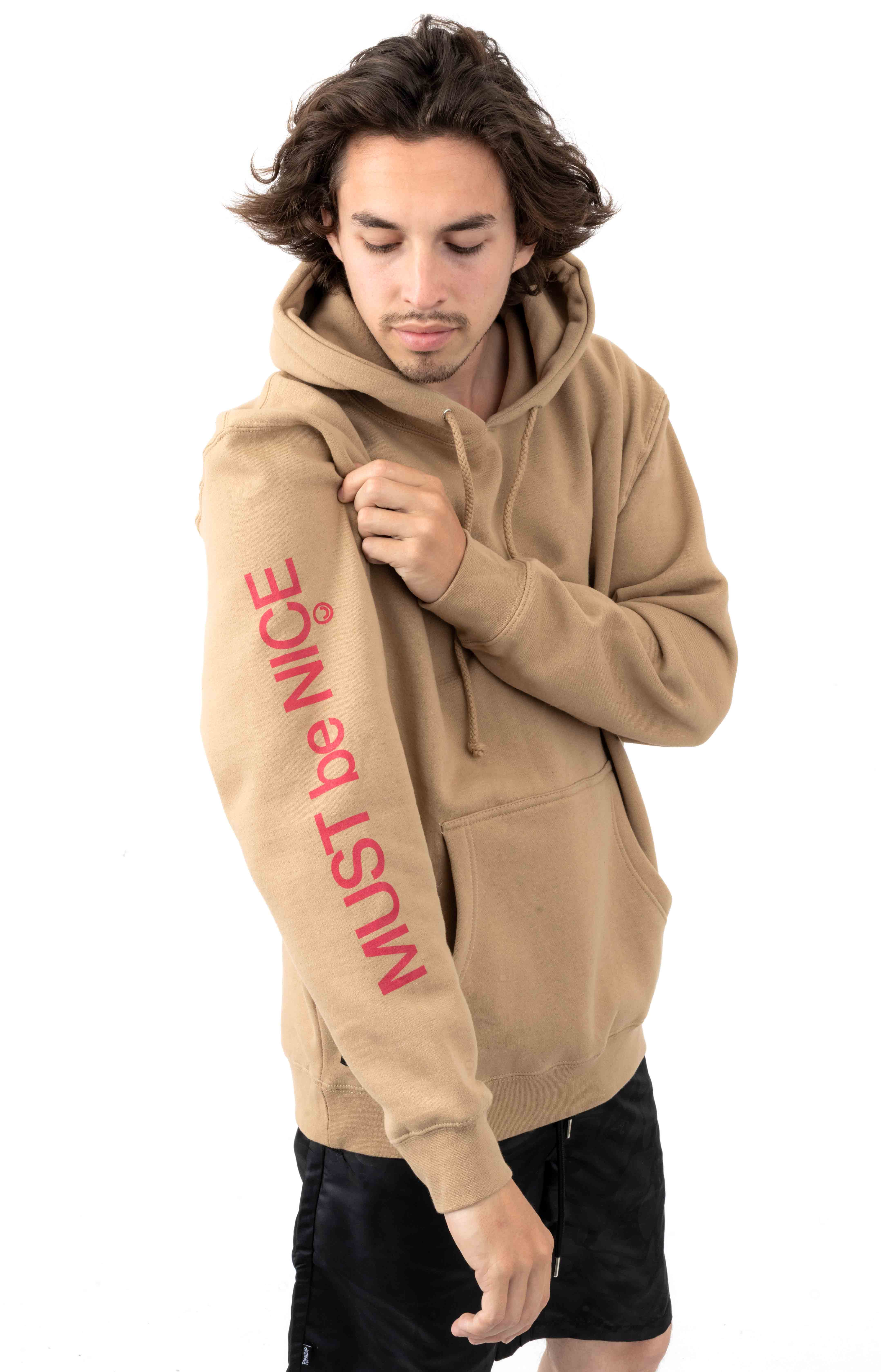 Fouquet Madonna Pullover Hoodie - Tan 3