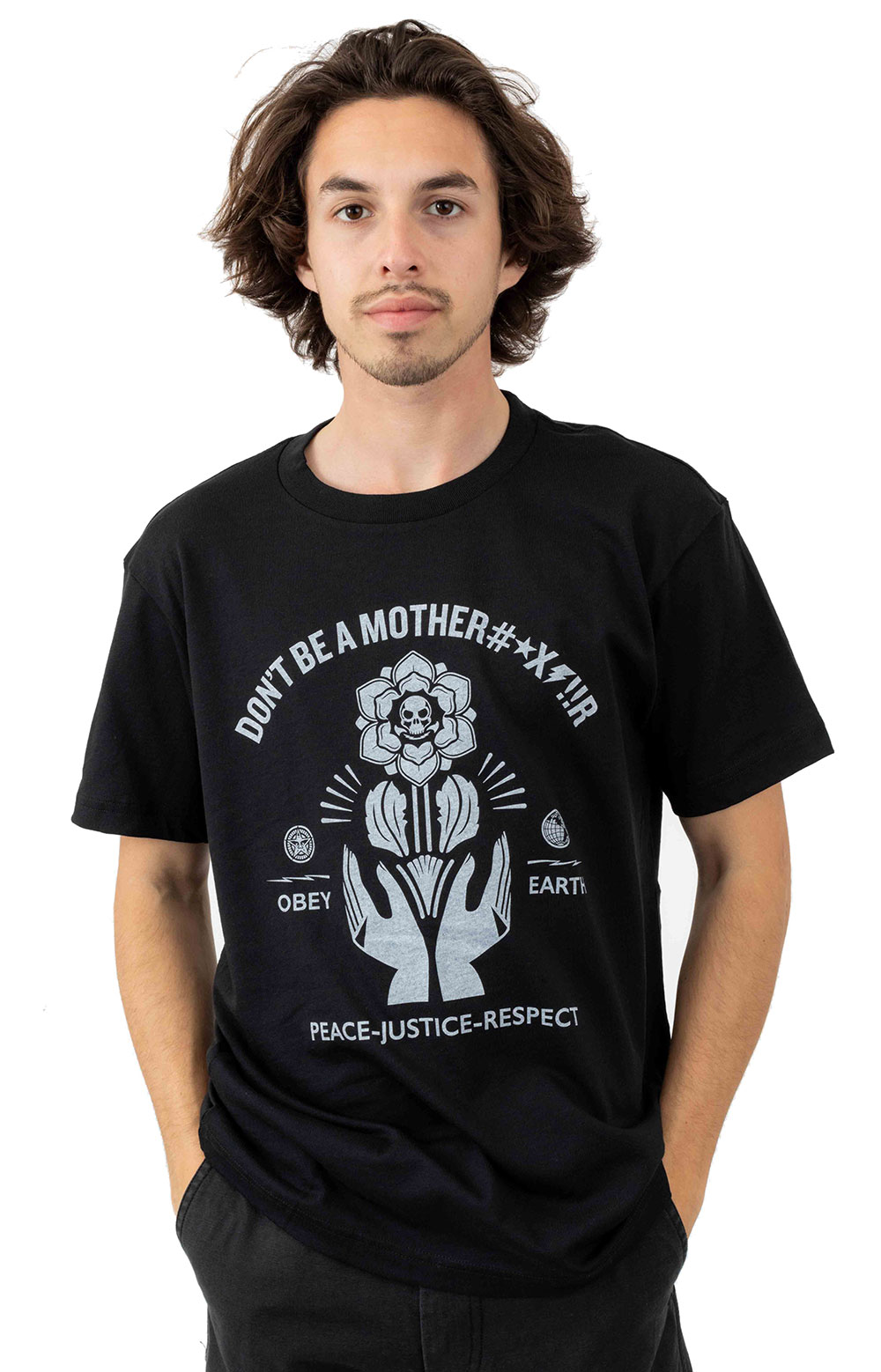 Obey Mothrfr T-Shirt - Black