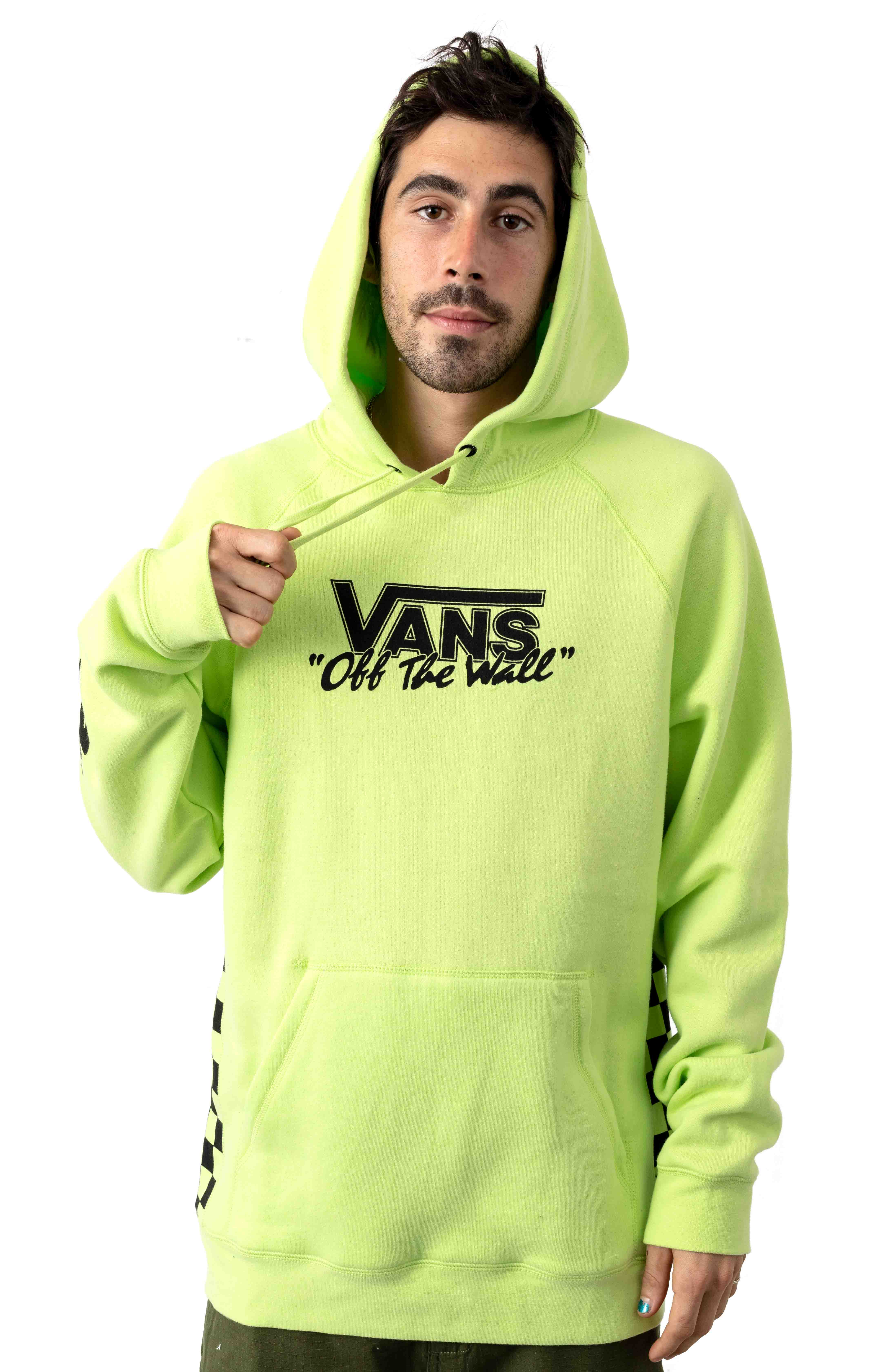 BMX Off The Wall Pullover Hoodie - Sharp Green