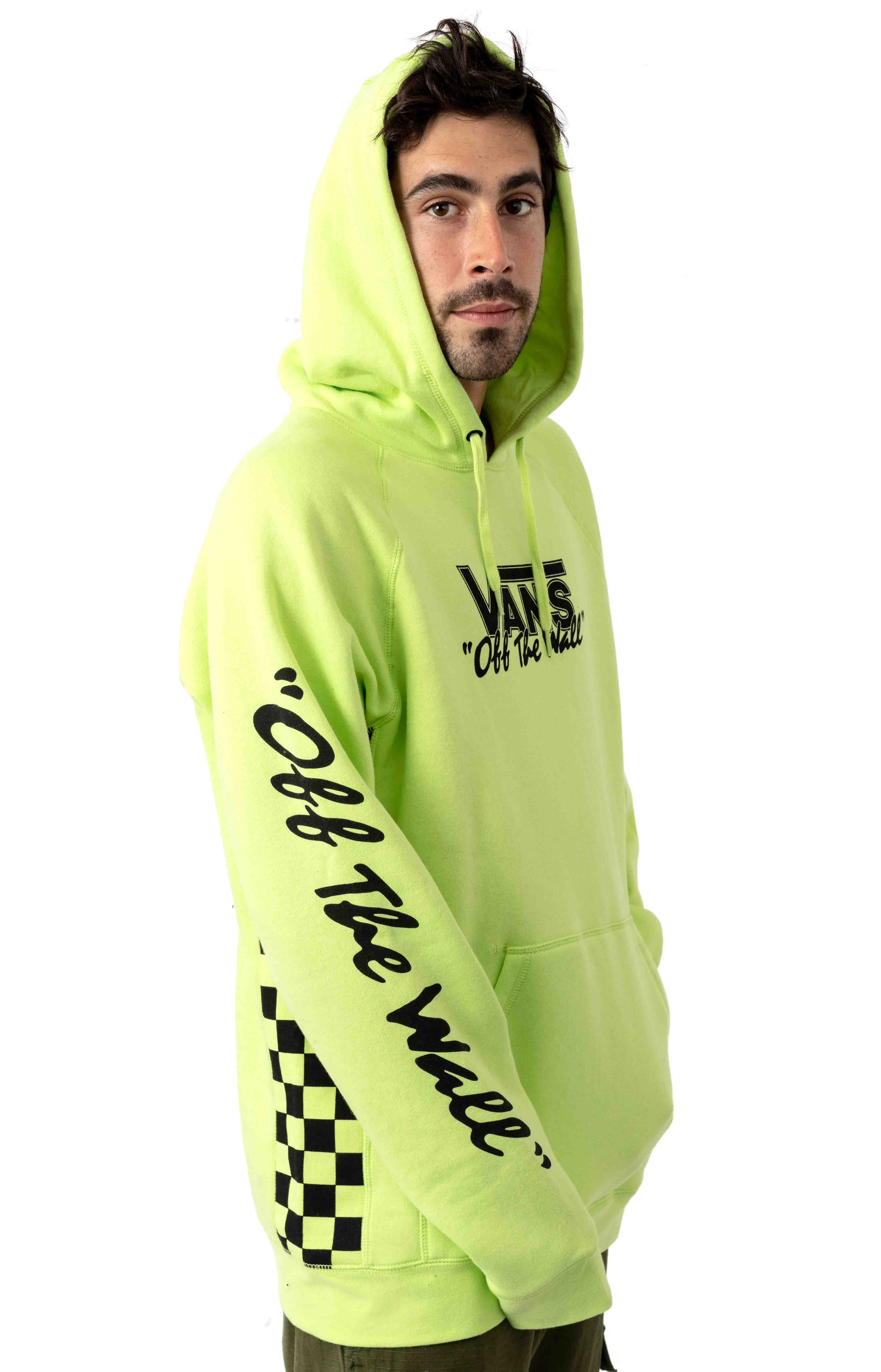 BMX Off The Wall Pullover Hoodie - Sharp Green 2