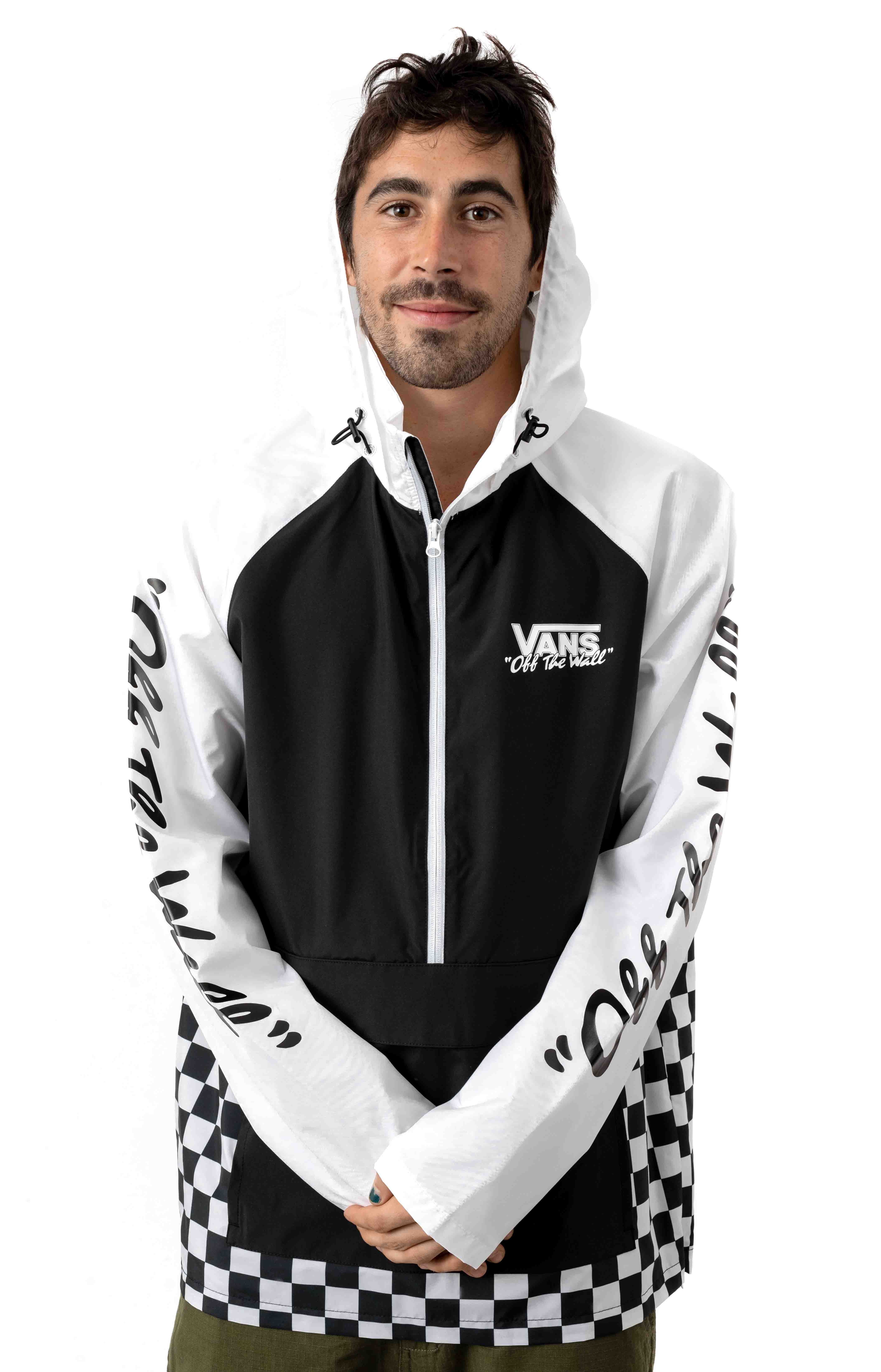 BMX Off The Wall Anorak - Black/White 2