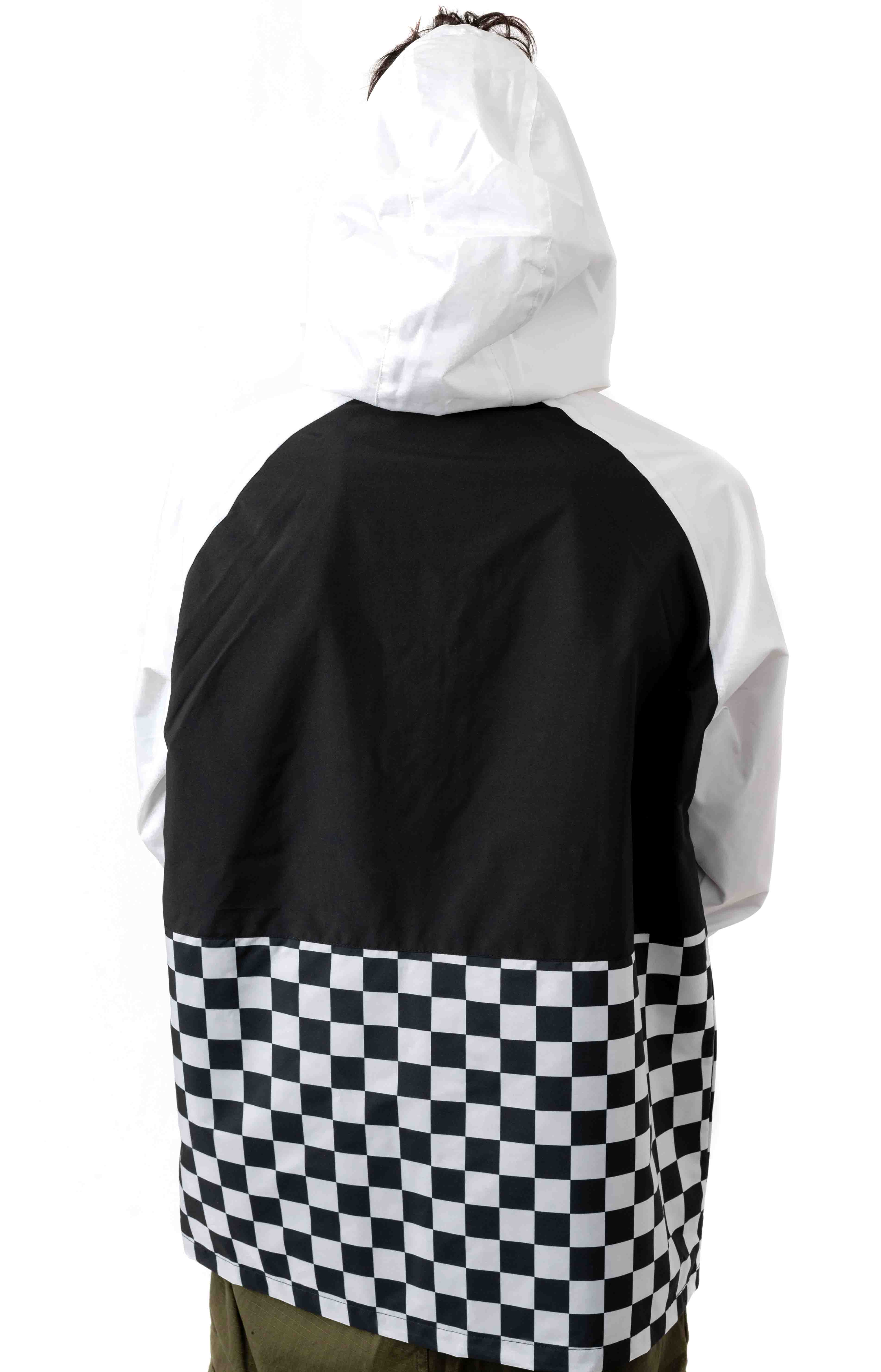 BMX Off The Wall Anorak - Black/White 4