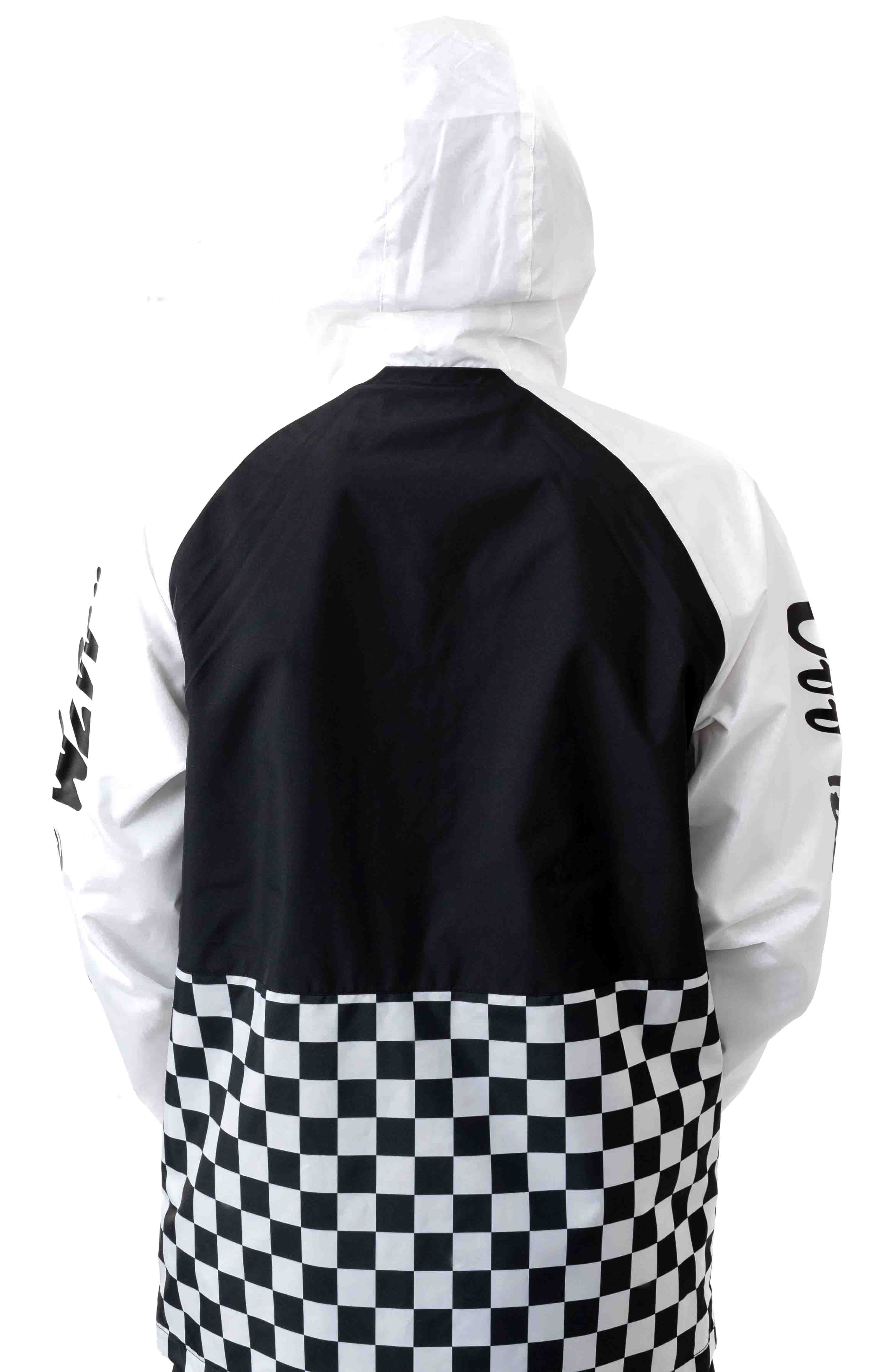 BMX Off The Wall Anorak - Black/White 6