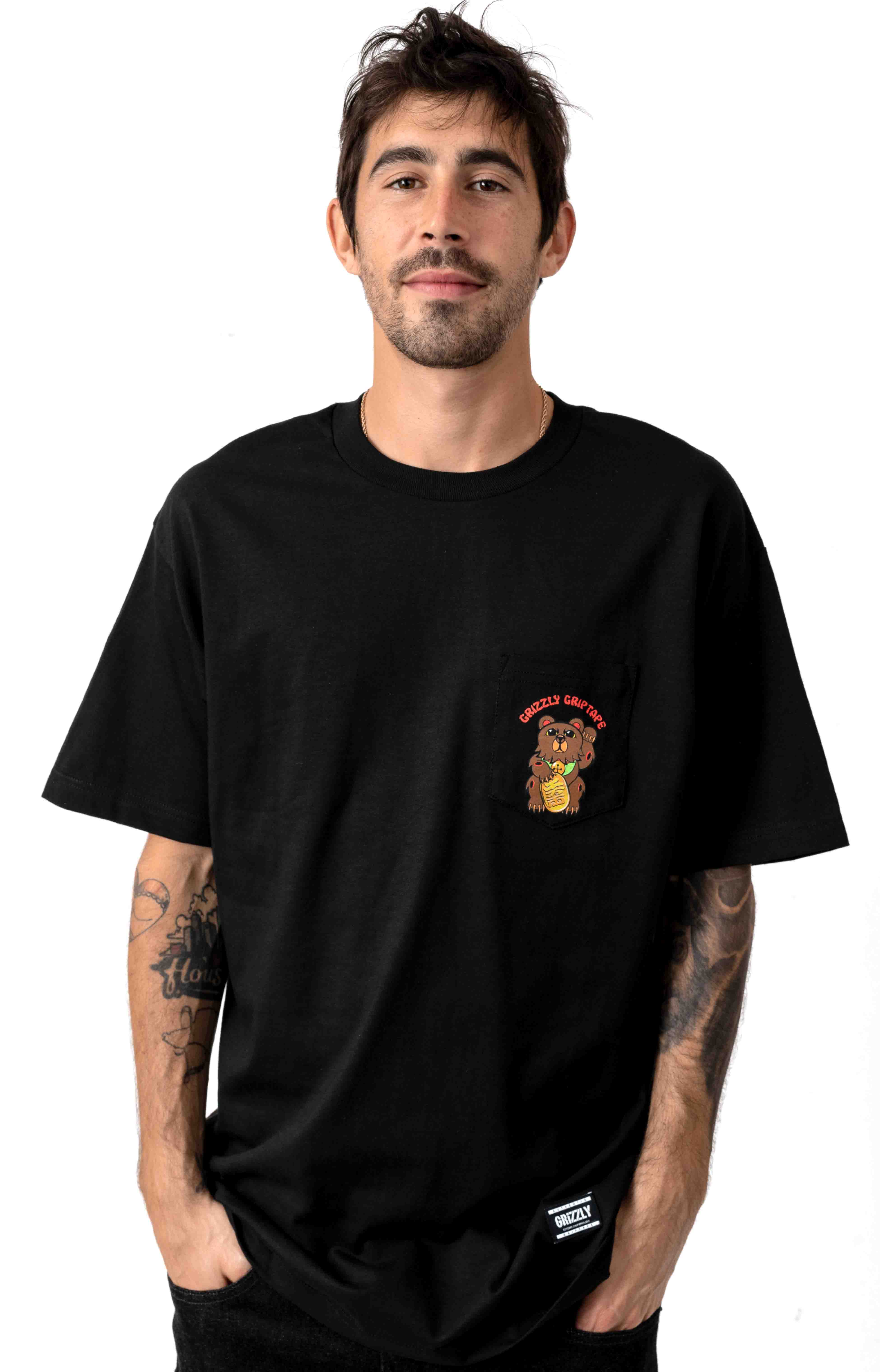 Lucky Bear T-Shirt - Black 2