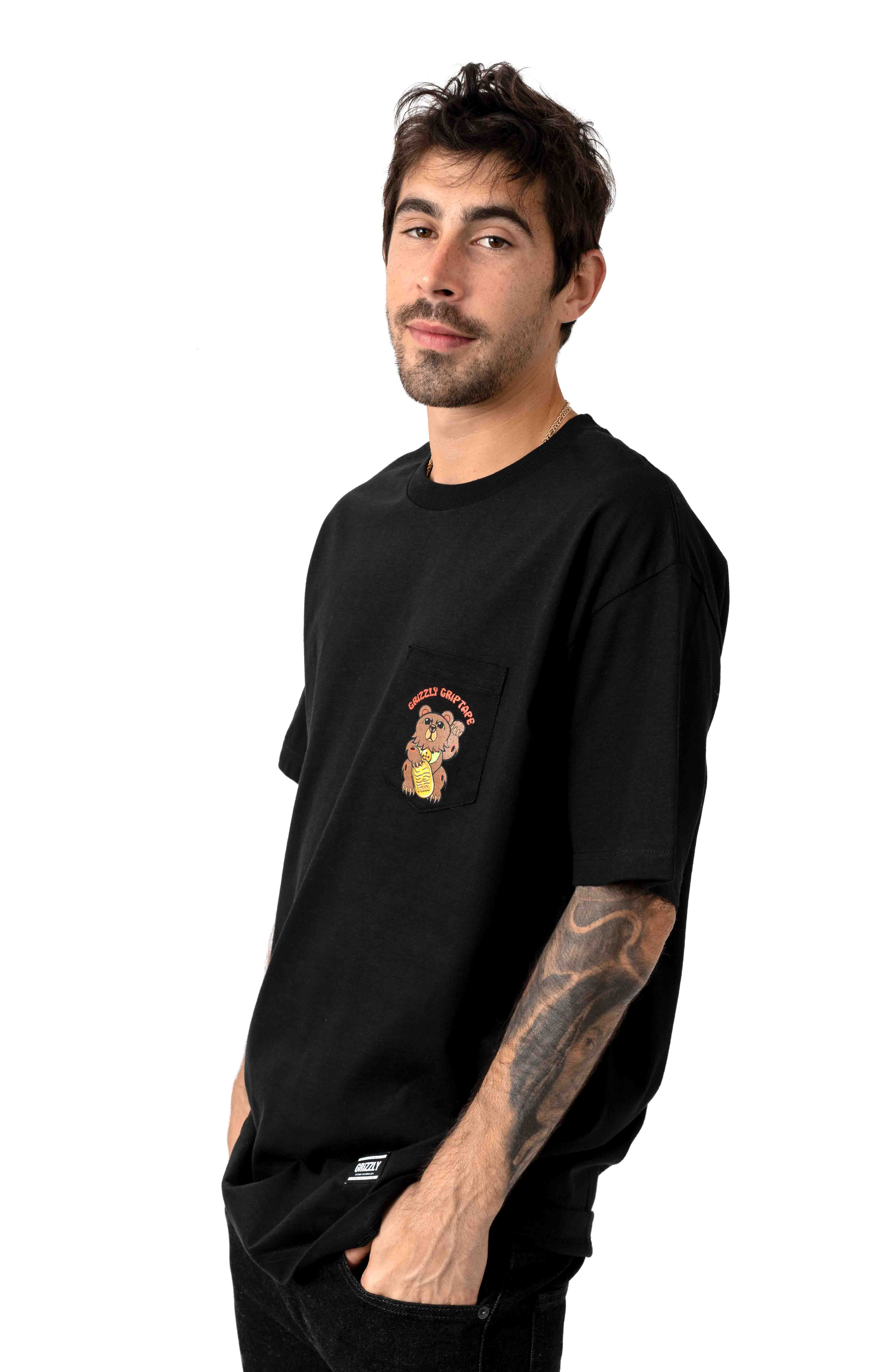 Lucky Bear T-Shirt - Black 3