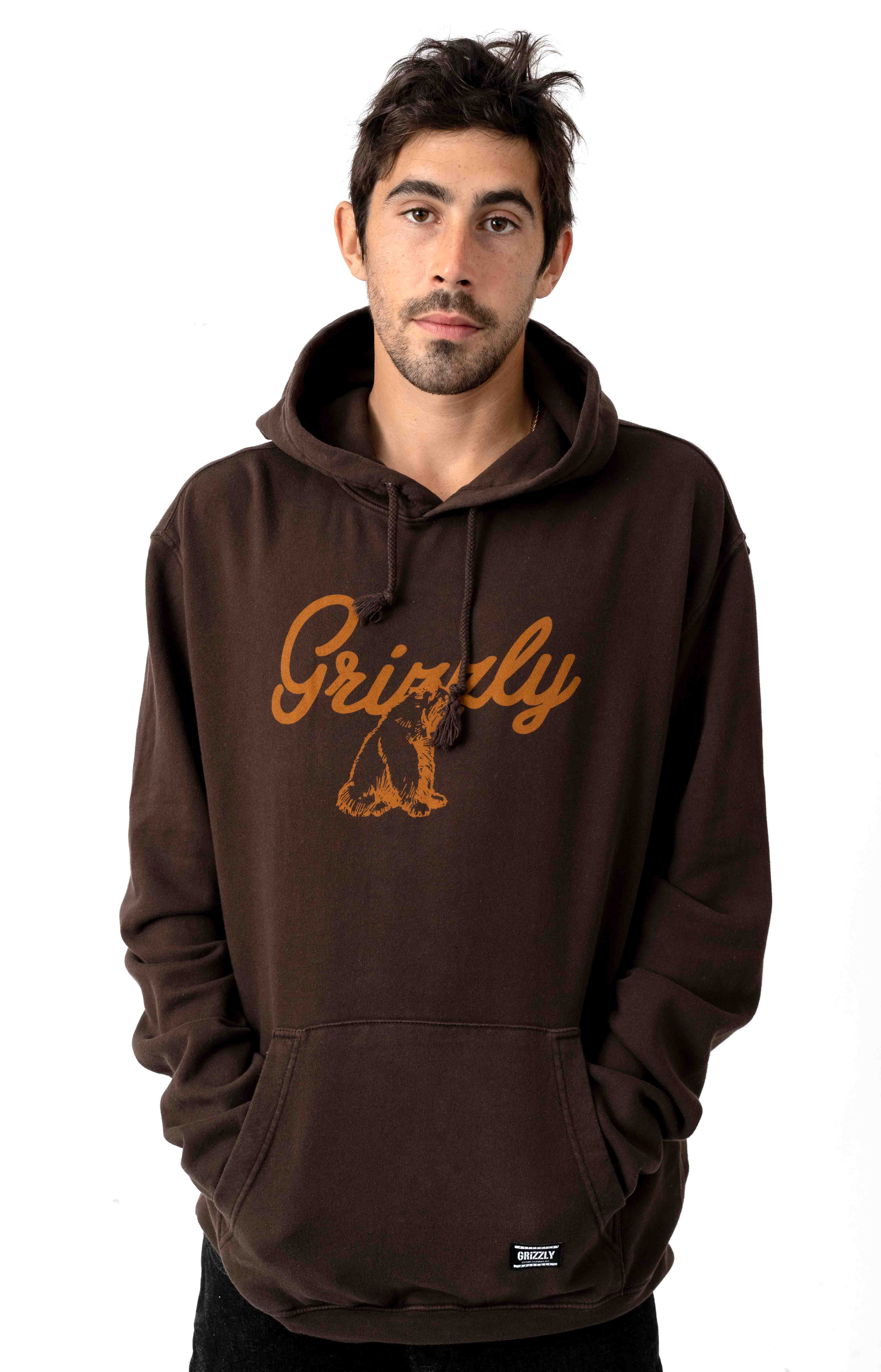 Grizzly Ridge Pullover Hoodie - Chocolate