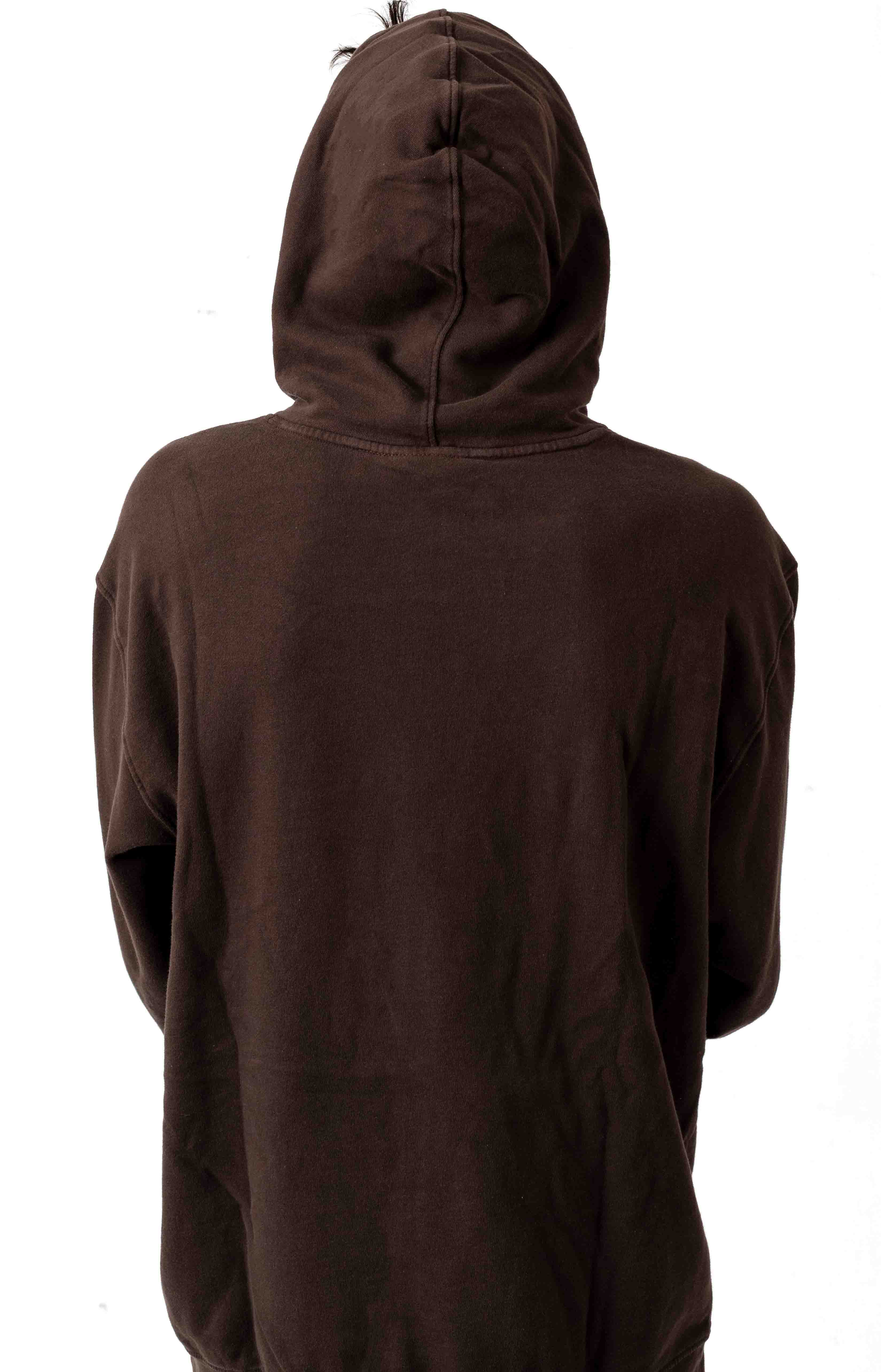 Grizzly Ridge Pullover Hoodie - Chocolate 3