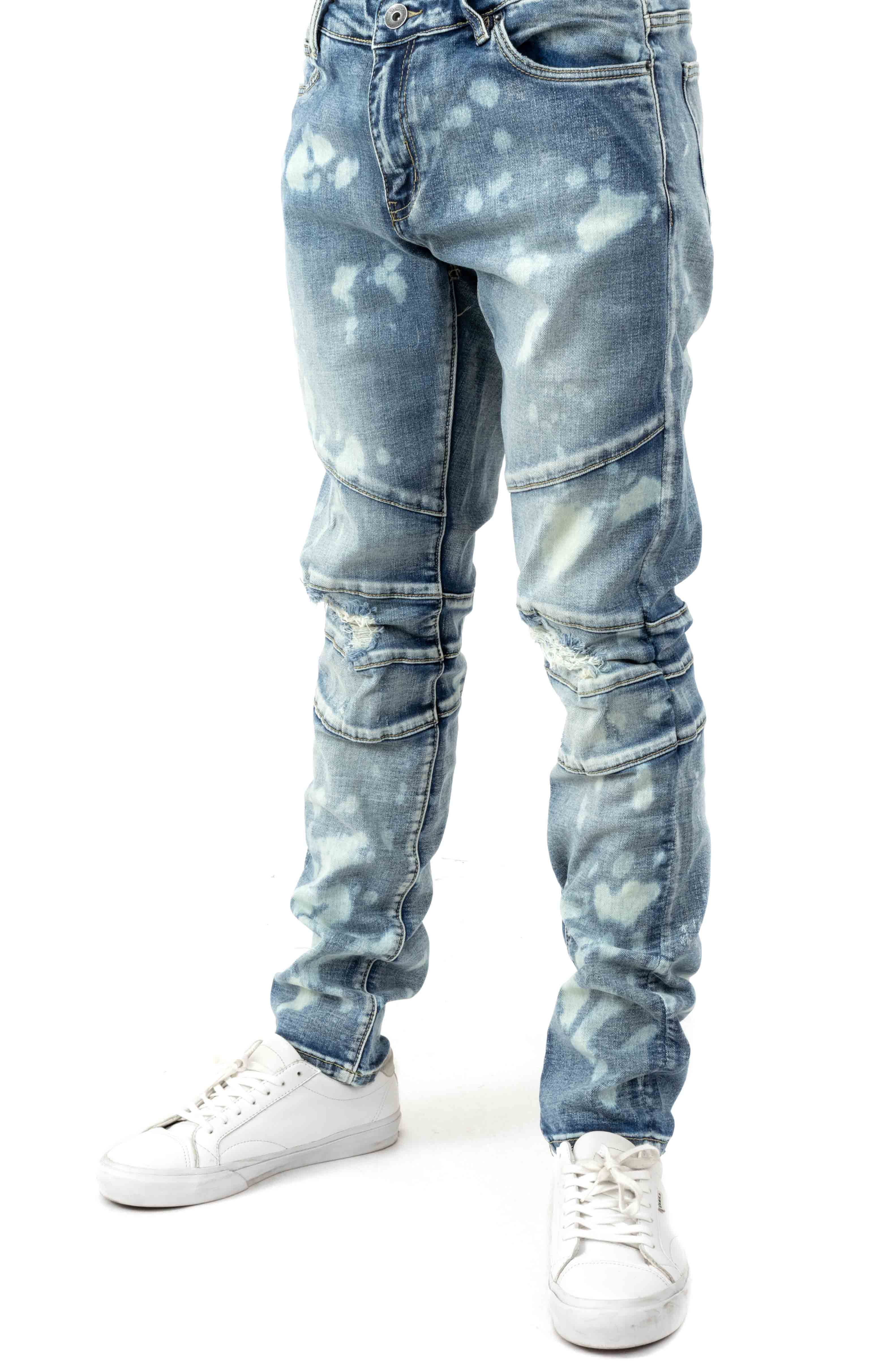 (CRYSP119-114) Montana Denim Jeans - Light Blue 1
