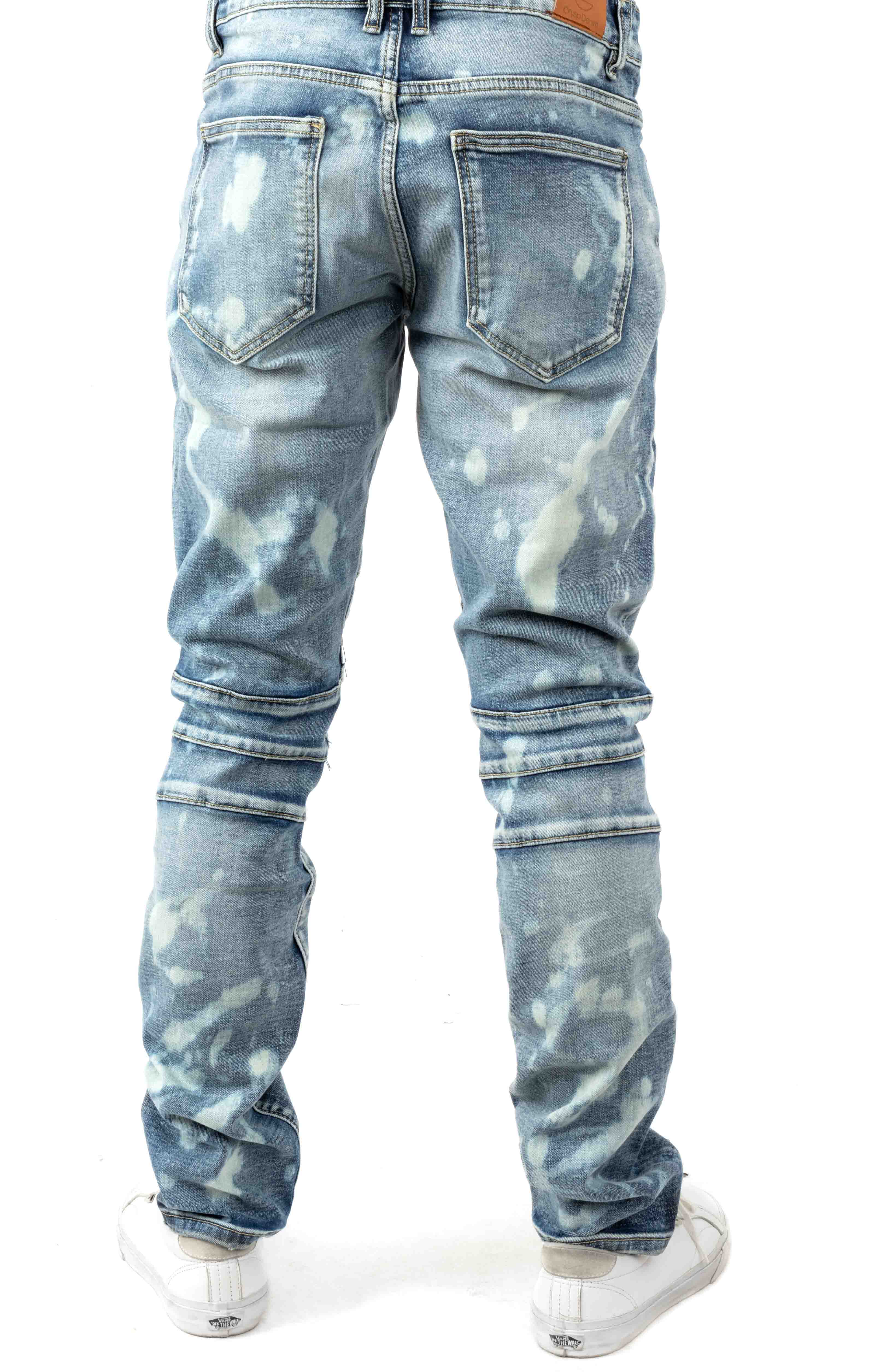 (CRYSP119-114) Montana Denim Jeans - Light Blue 3