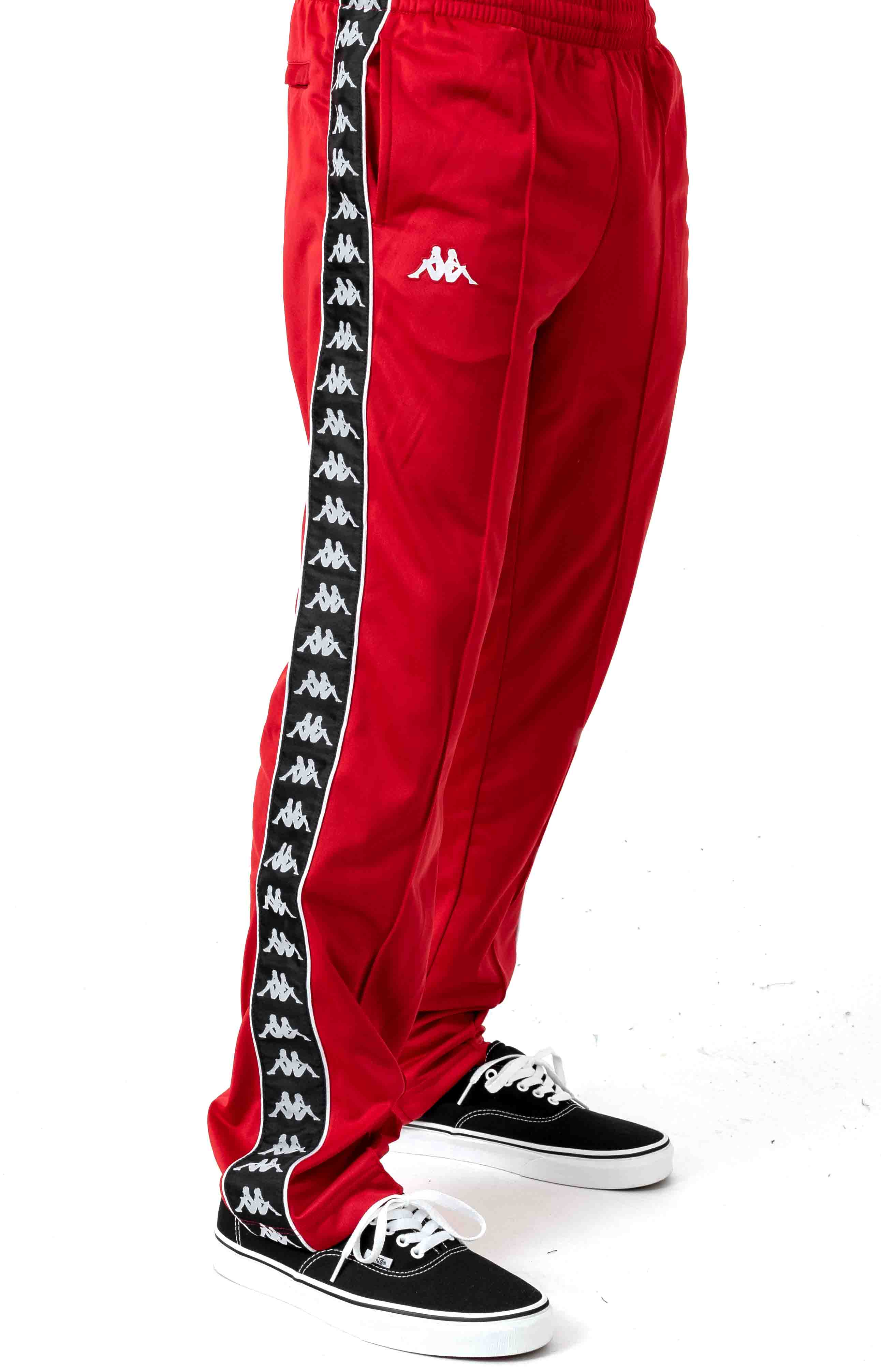 222 Banda Astoriazz Trackpant - Red/Black