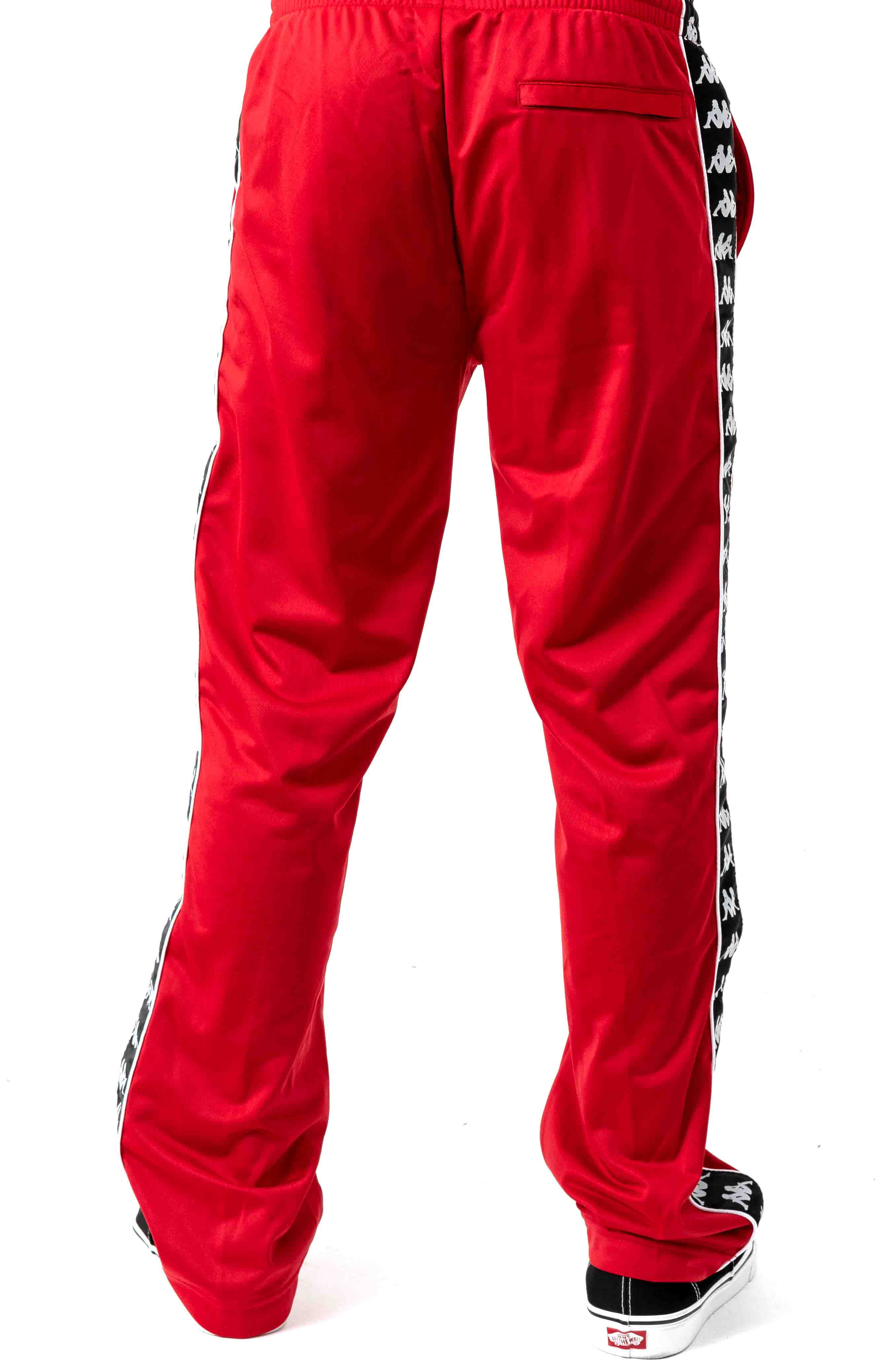 222 Banda Astoriazz Trackpant - Red/Black 3