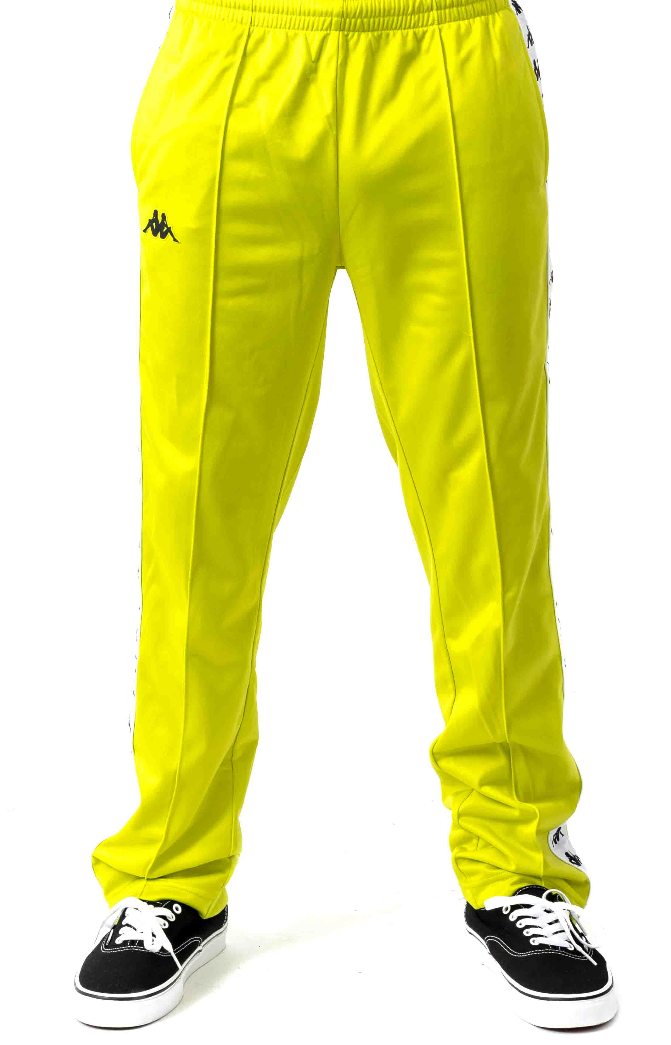 222 Banda Astoriazz Trackpant - Lime Green  2