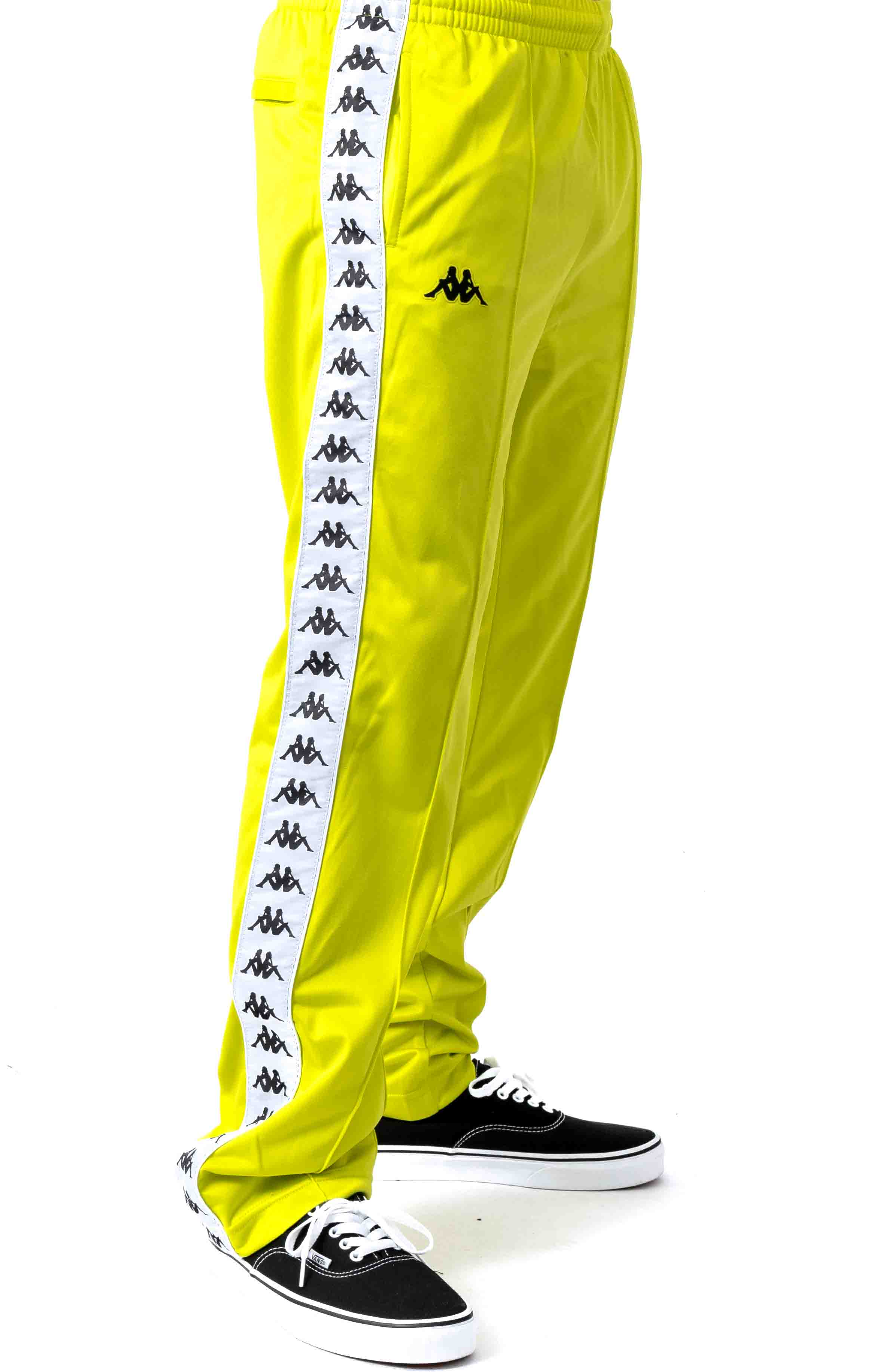 222 Banda Astoriazz Trackpant - Lime Green