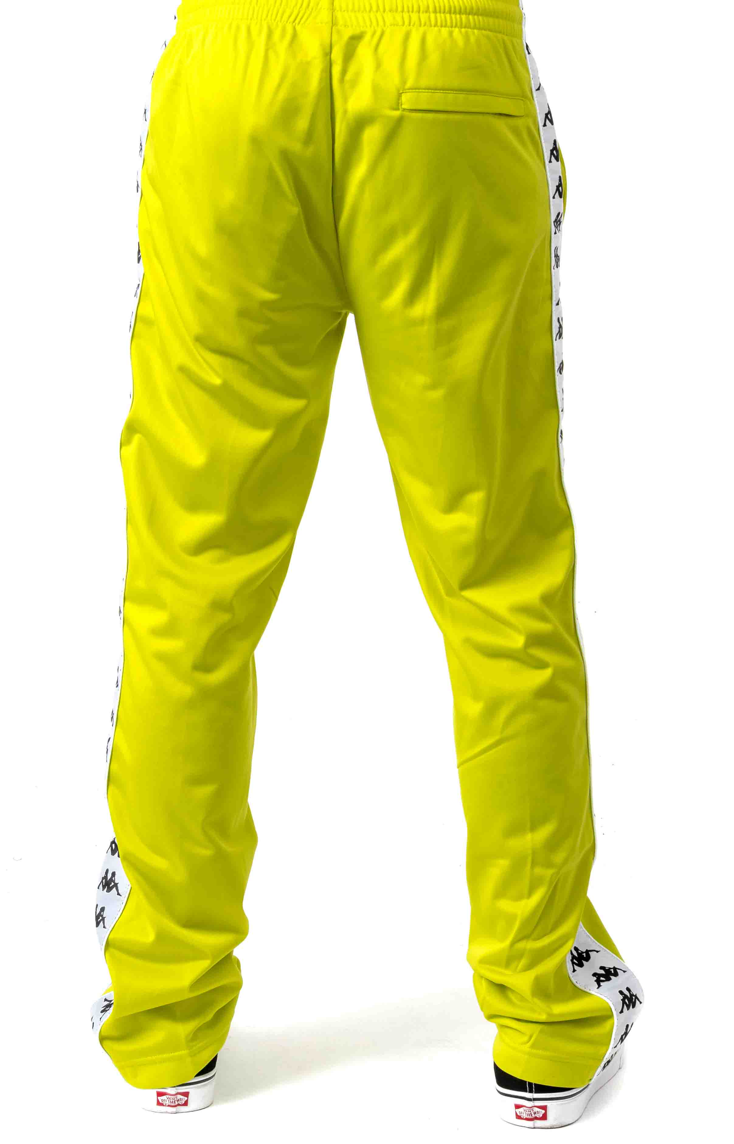 222 Banda Astoriazz Trackpant - Lime Green  3
