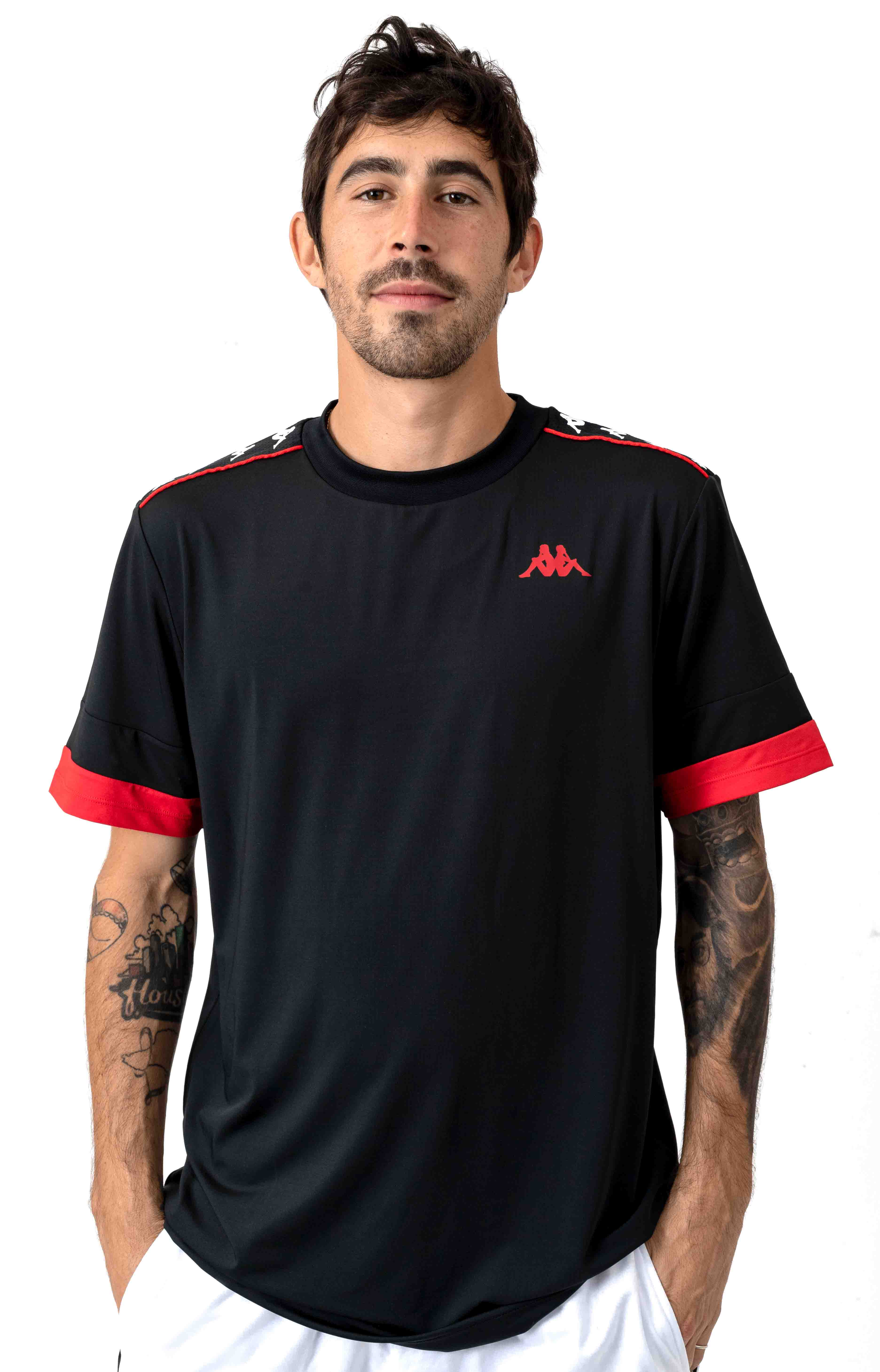 222 Banda Bruxer T-Shirt - Black/Red