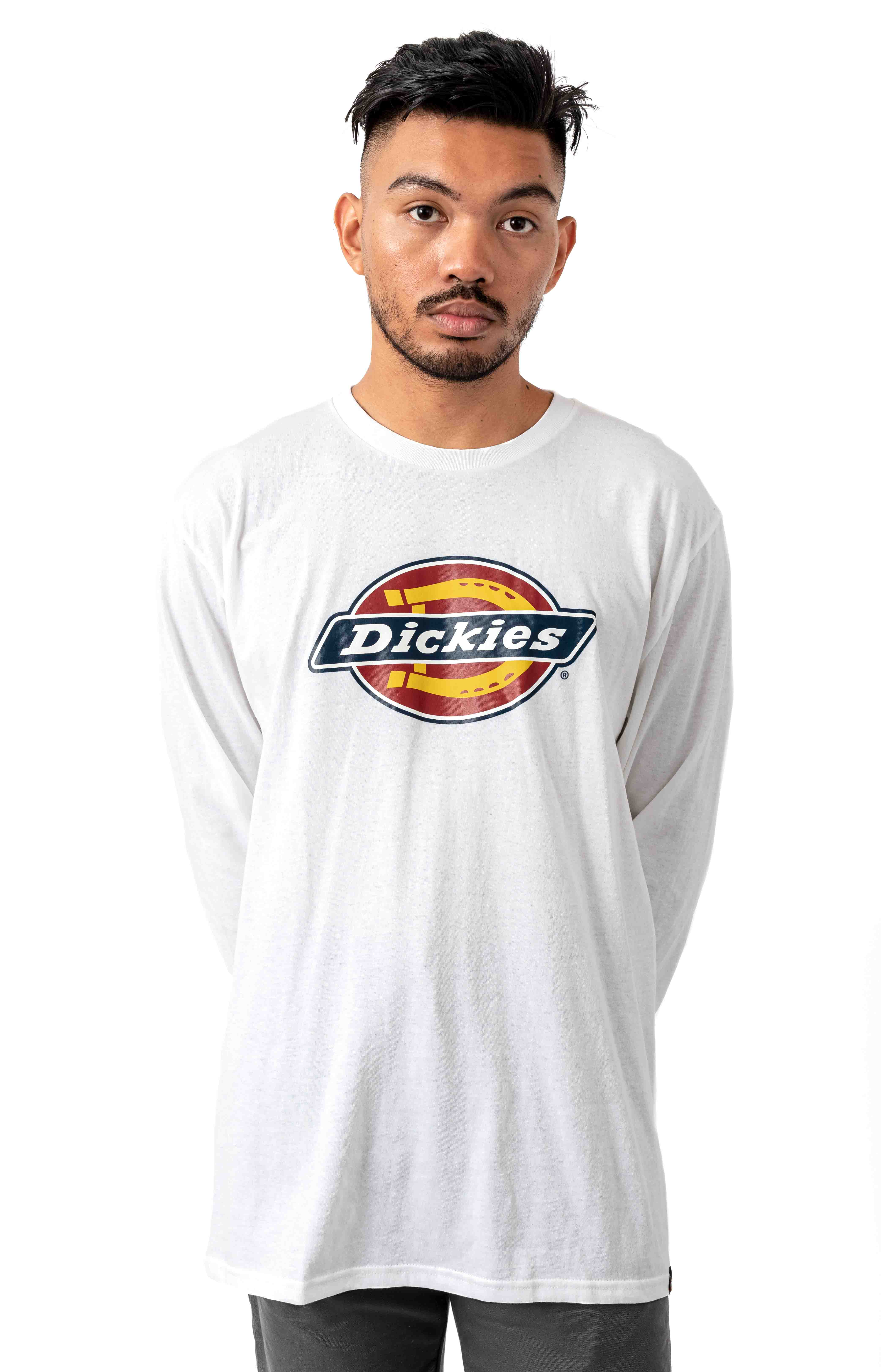 (WL45AAWH) L/S Regular Icon Graphic Shirt - White
