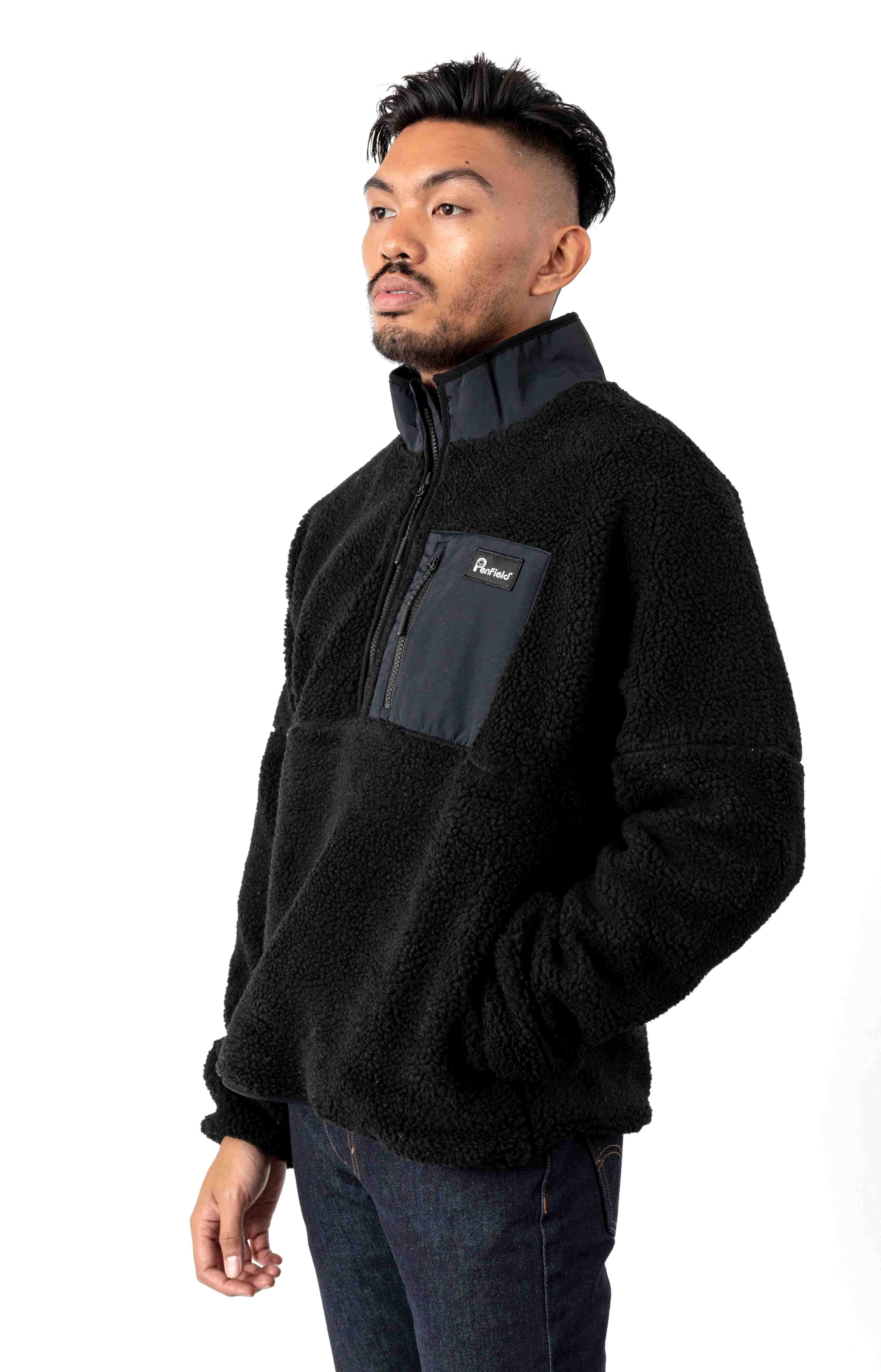 Medford Fleece - Black 2