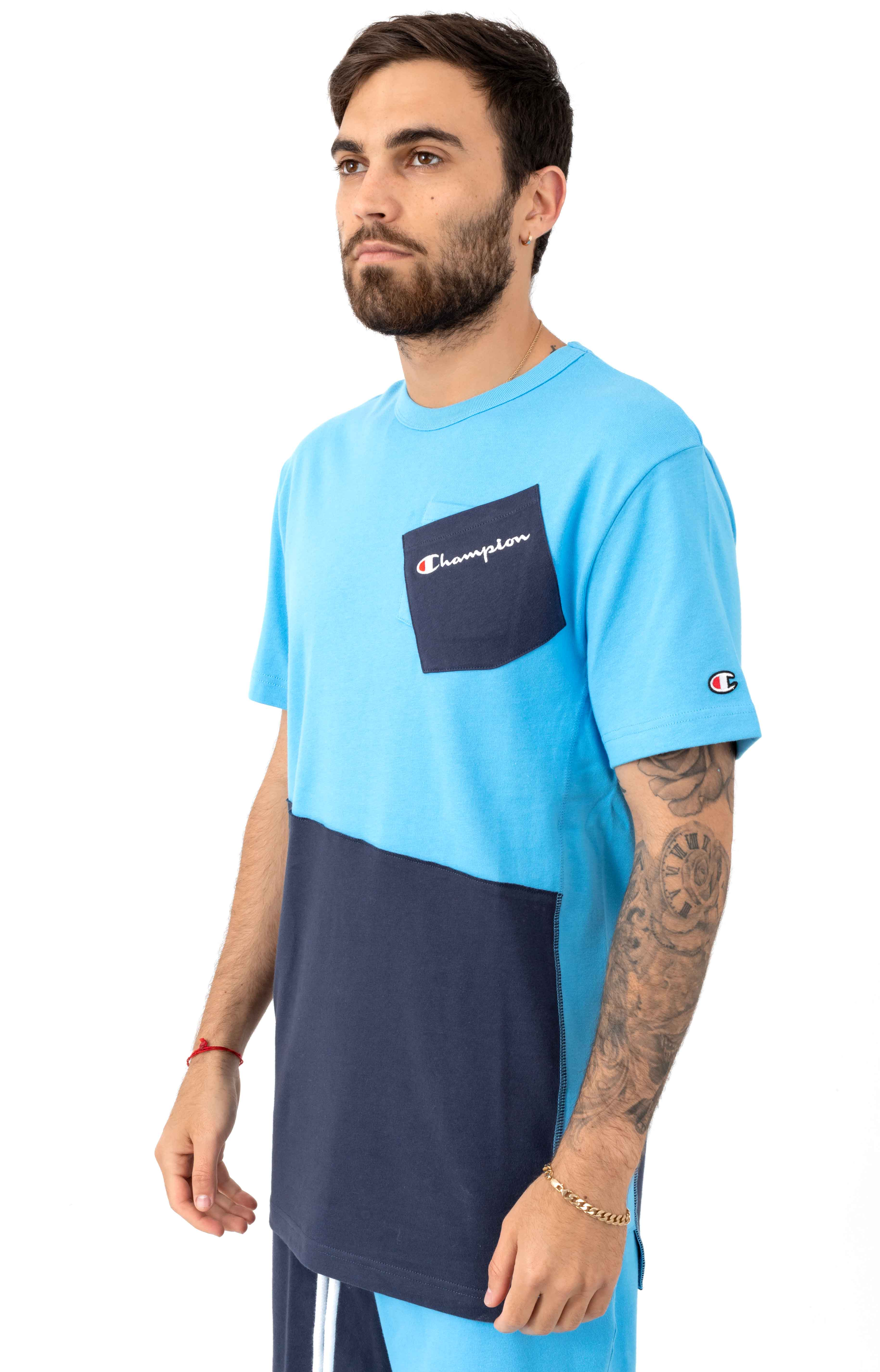 Heritage Shift T-Shirt - Active Blue 2
