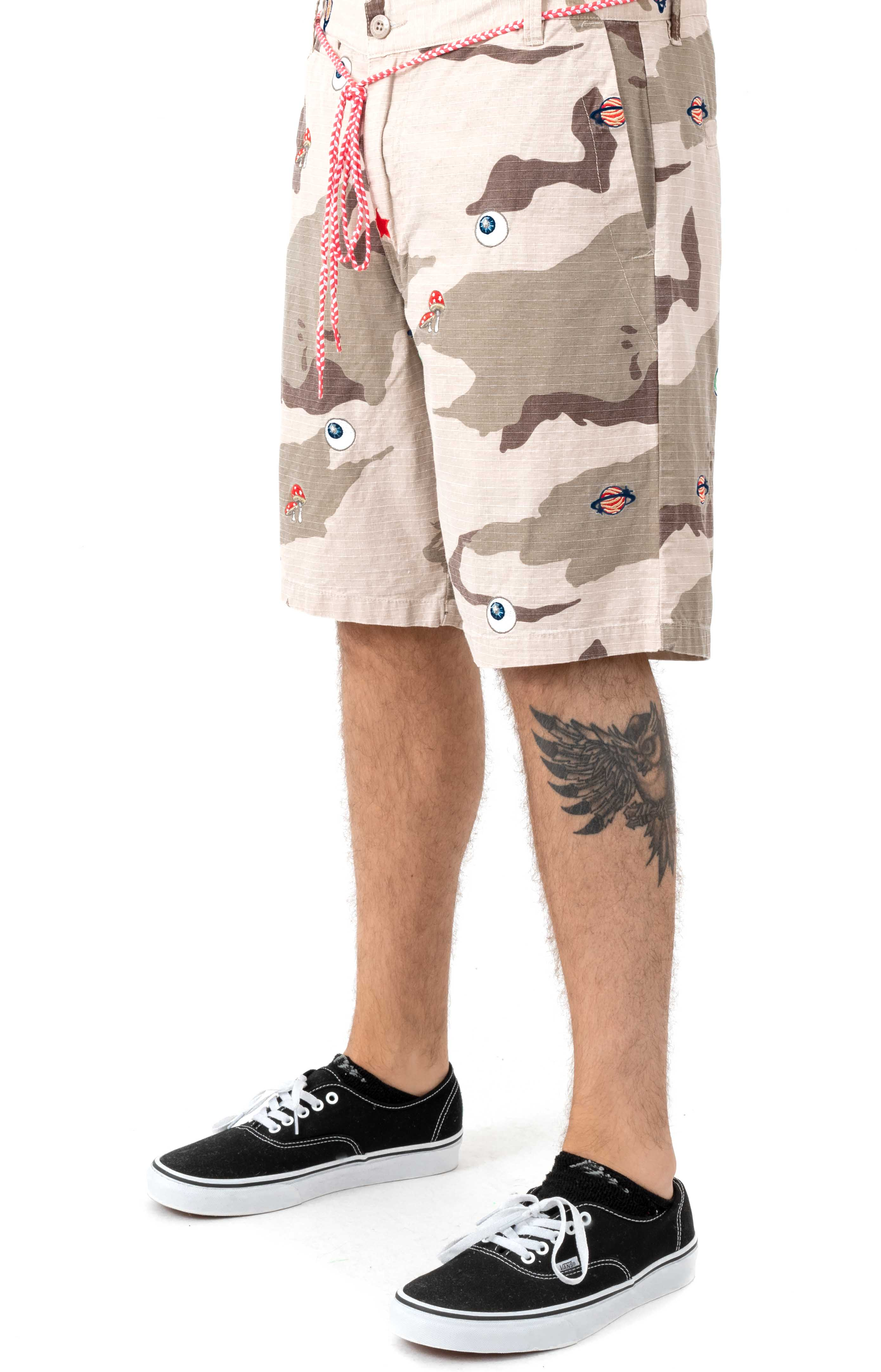 BB Camo Short - Smoke Grey