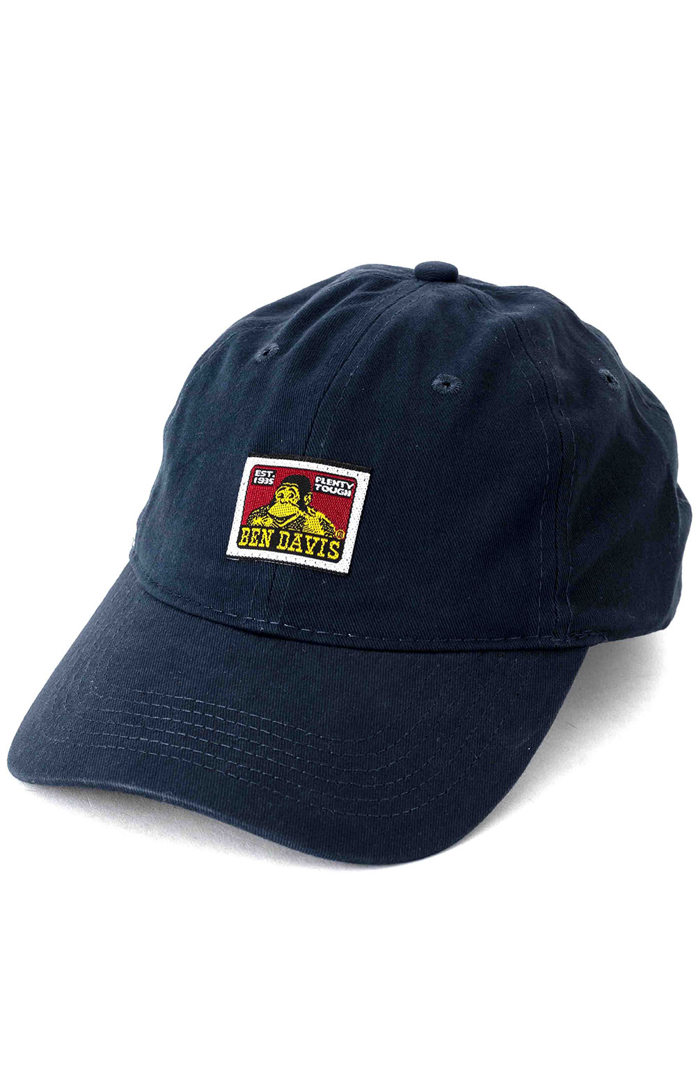 Cotton Twill Baseball Cap - Navy