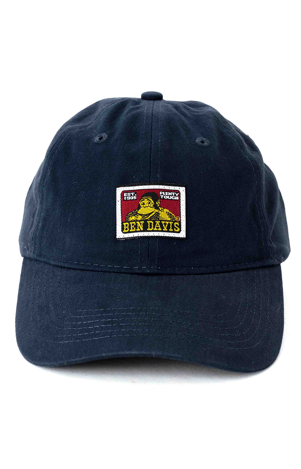 Unstructured Ball Cap - Navy  2