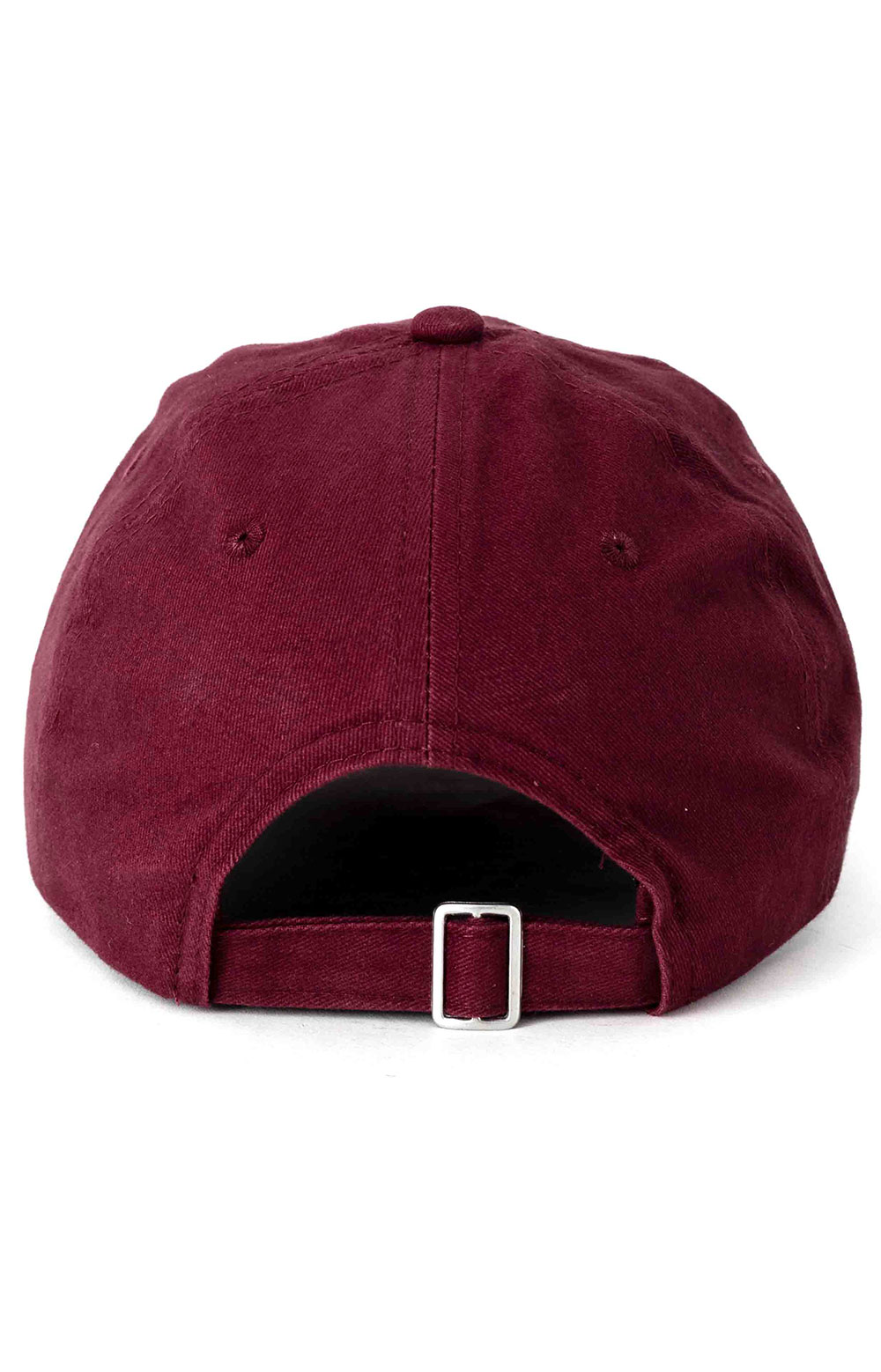 Unstructured Ball Cap - Burgundy 3
