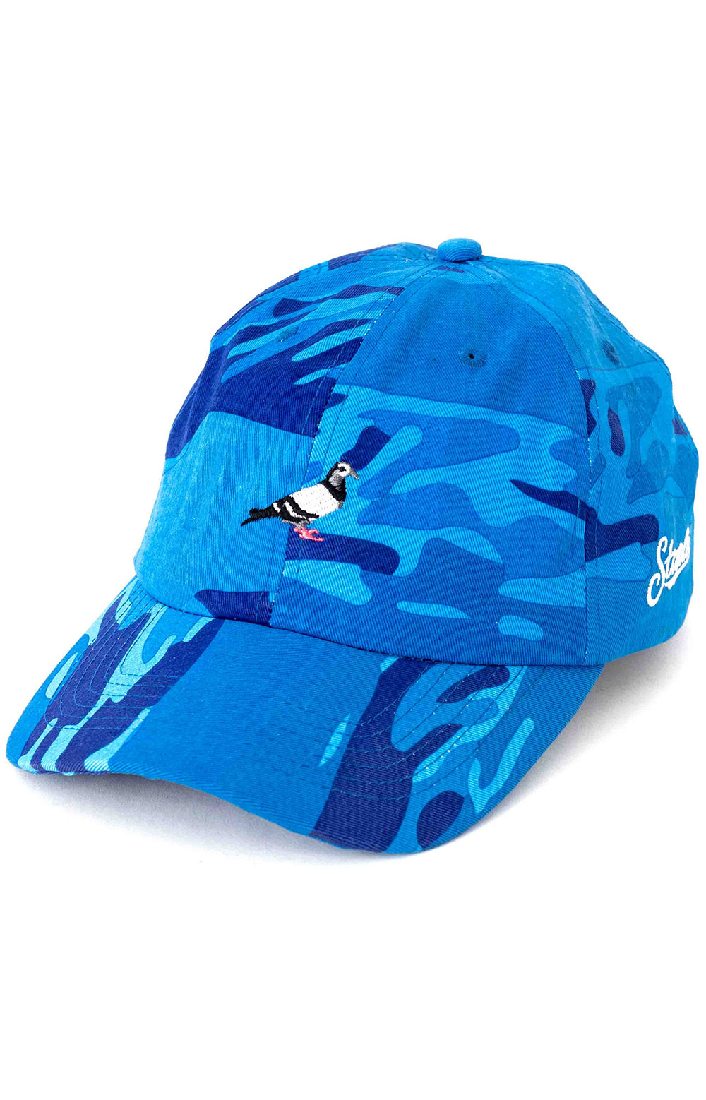 Pigeon Twill Dad Hat - Blue