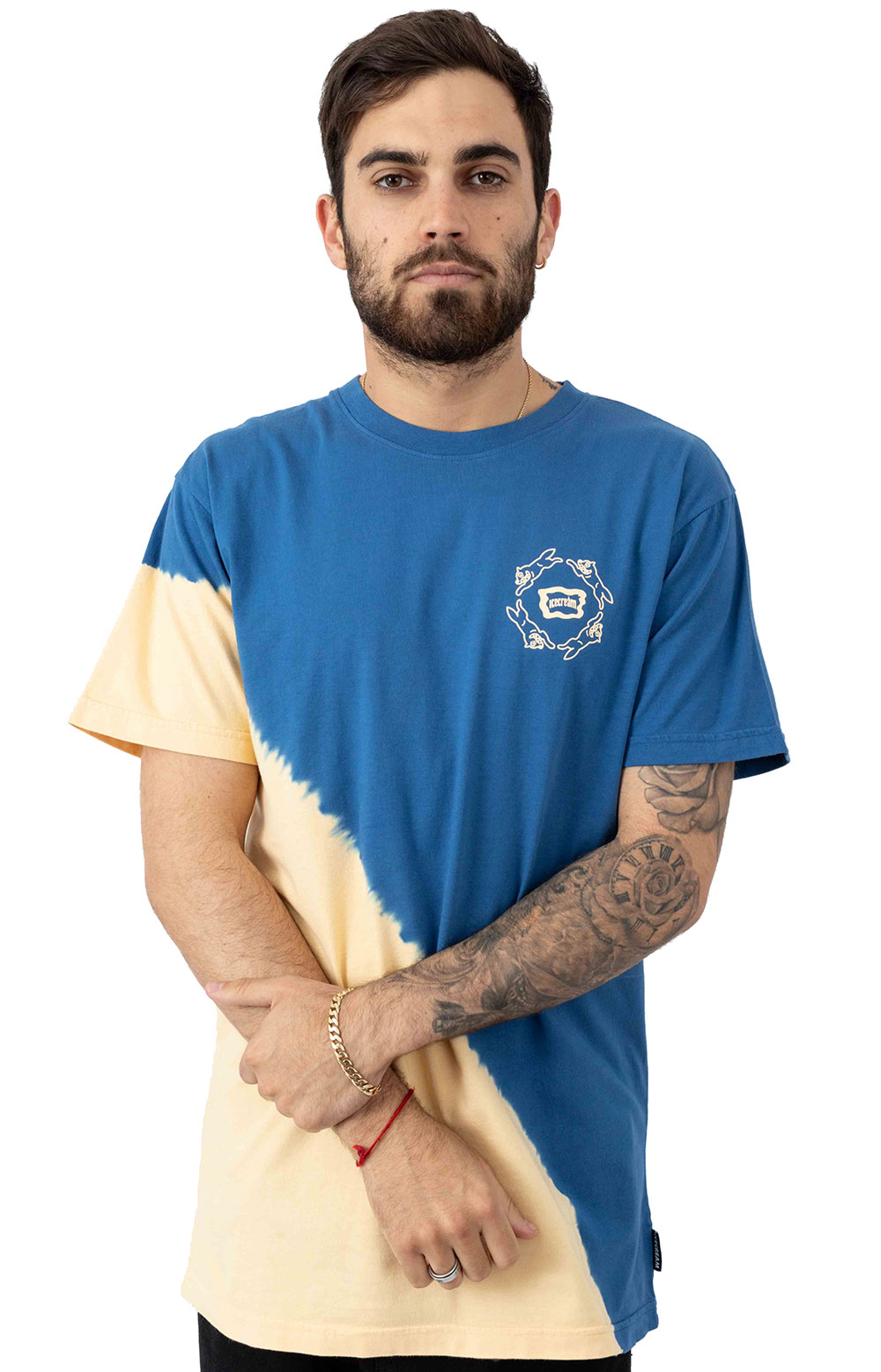 Rat Race Knit T-Shirt - Federal Blue