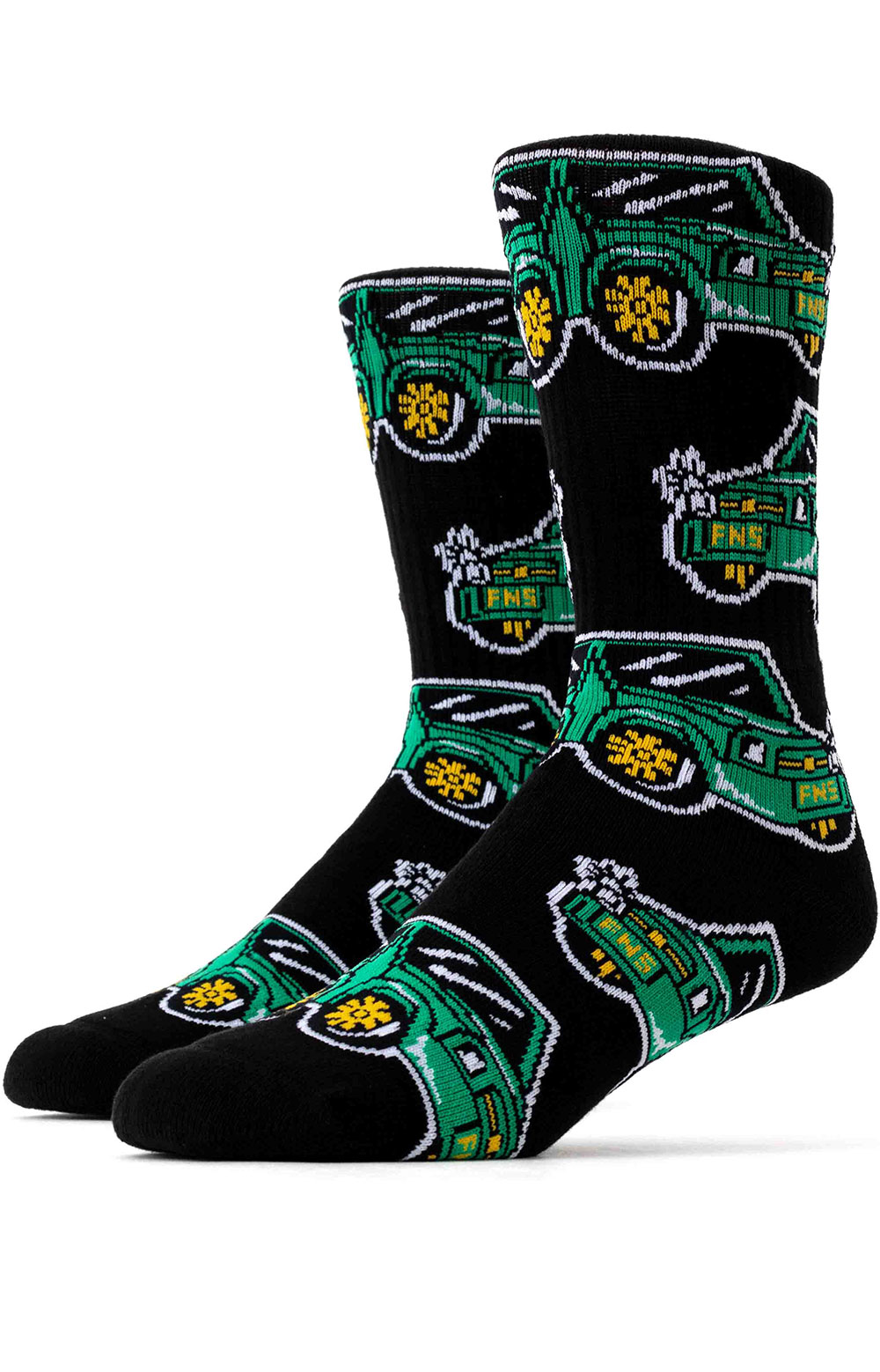 Show Out Socks - Green