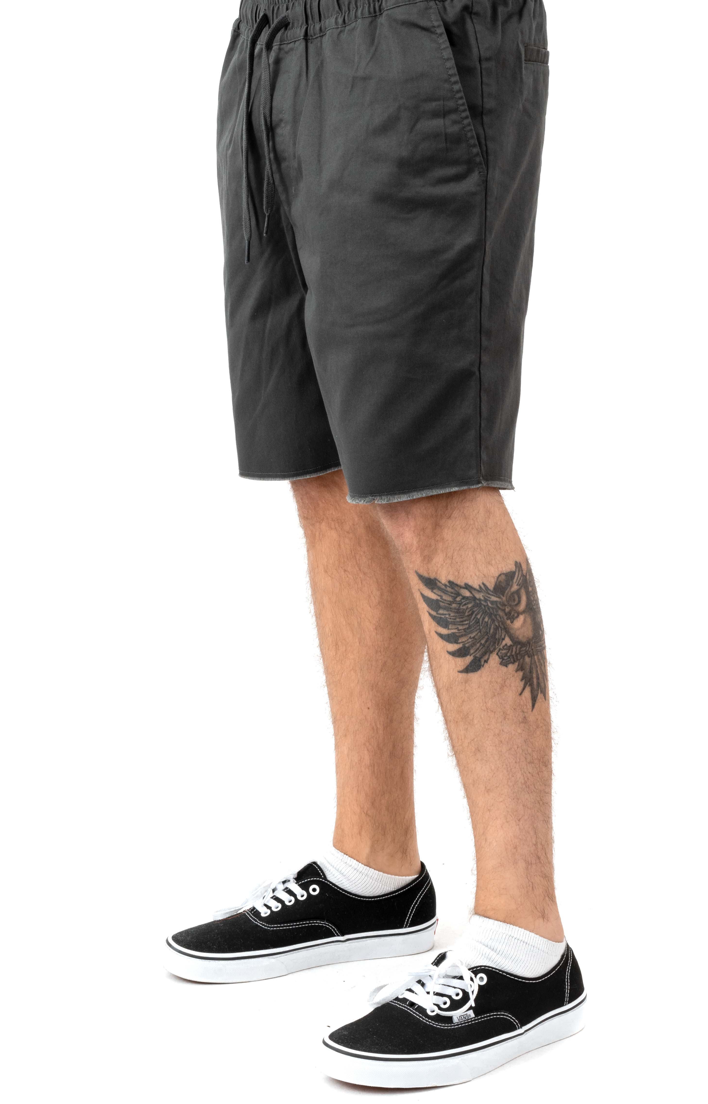 Weekend Elastic Shorts - Pirate Black