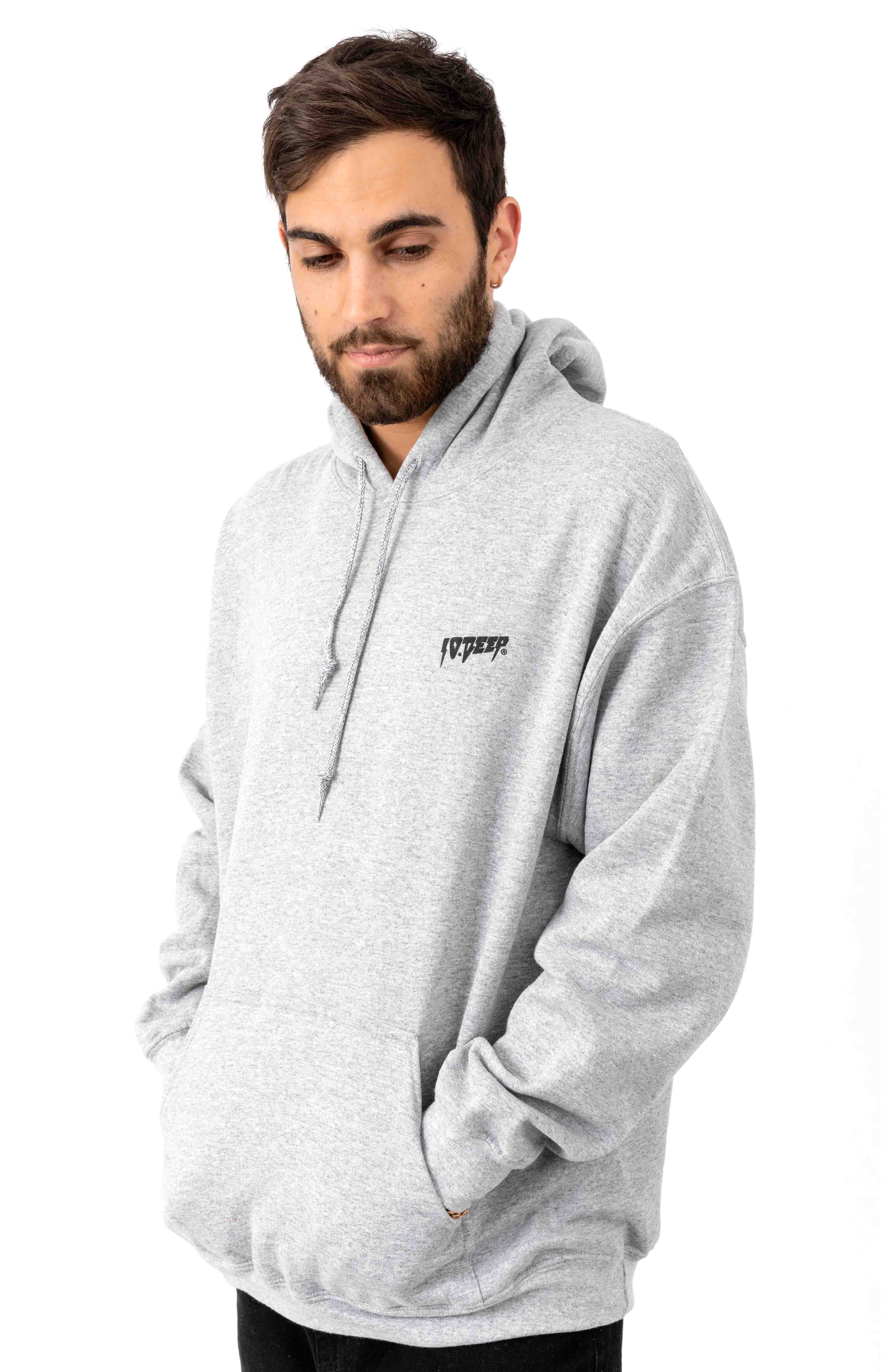Sound & Fury Pullover Hoodie - Heather Grey