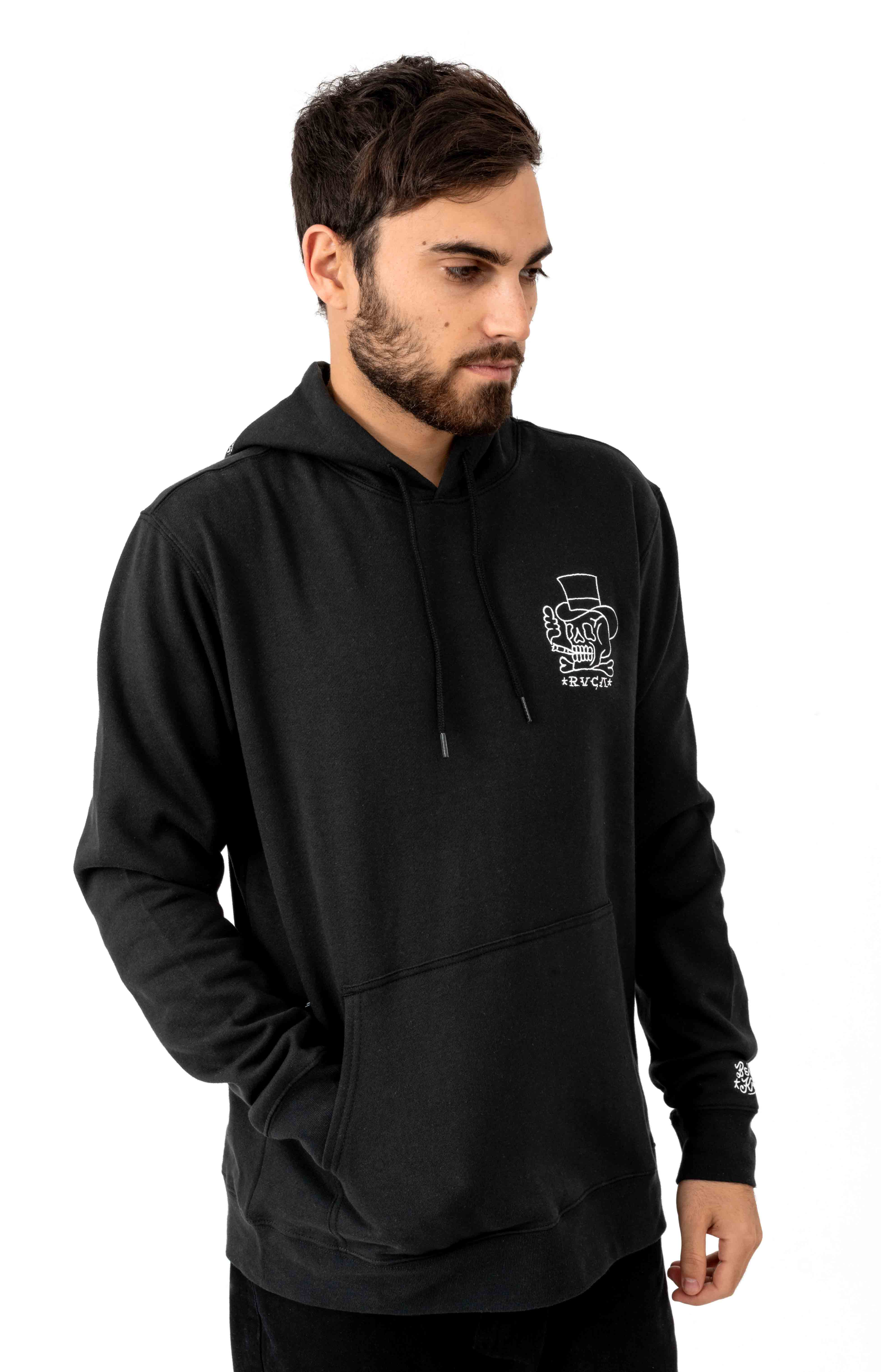 Pick Your Battle Pullover Hoodie - Black