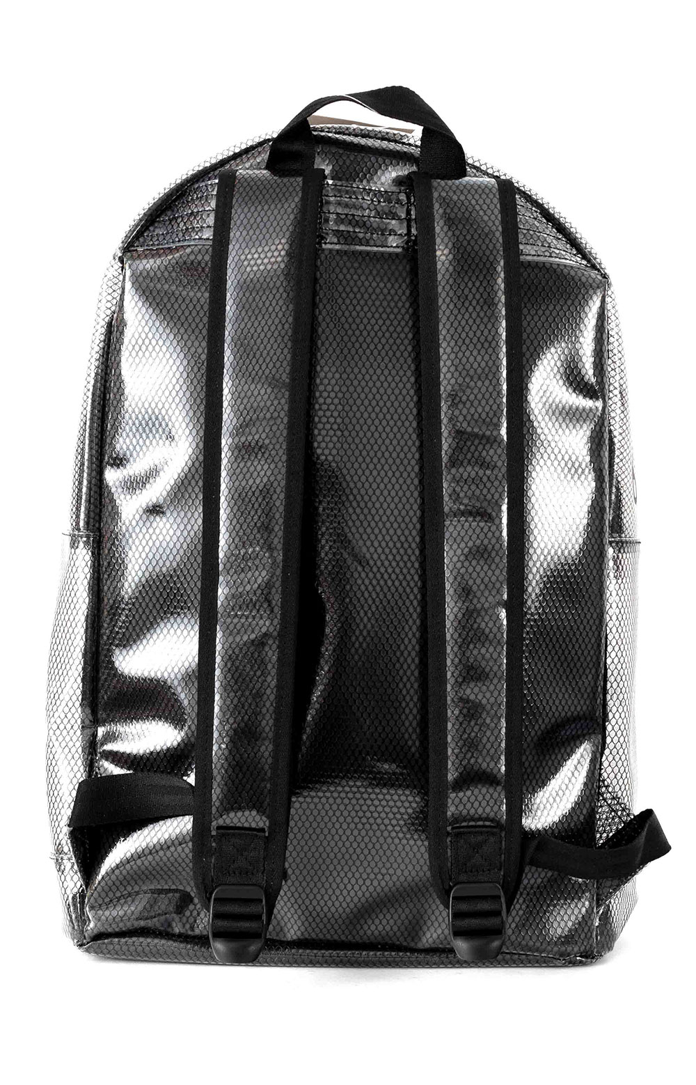 (CH1151) Supercize Clear Backpack - Black  3
