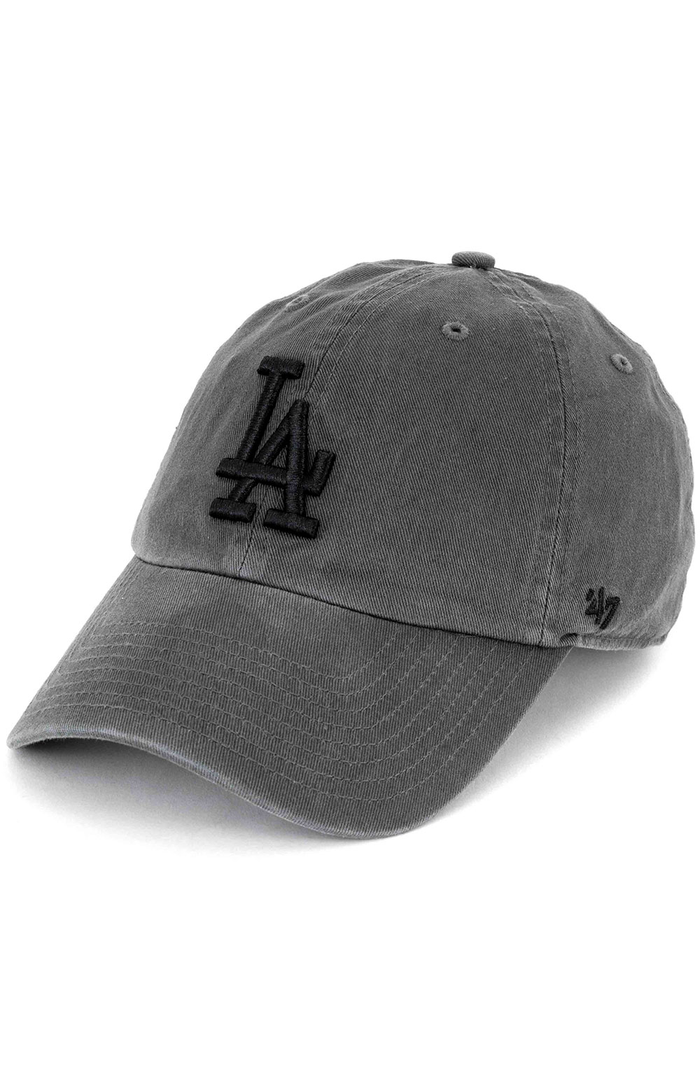 Los Angeles Dodgers Clean Up Cap - Charcoal