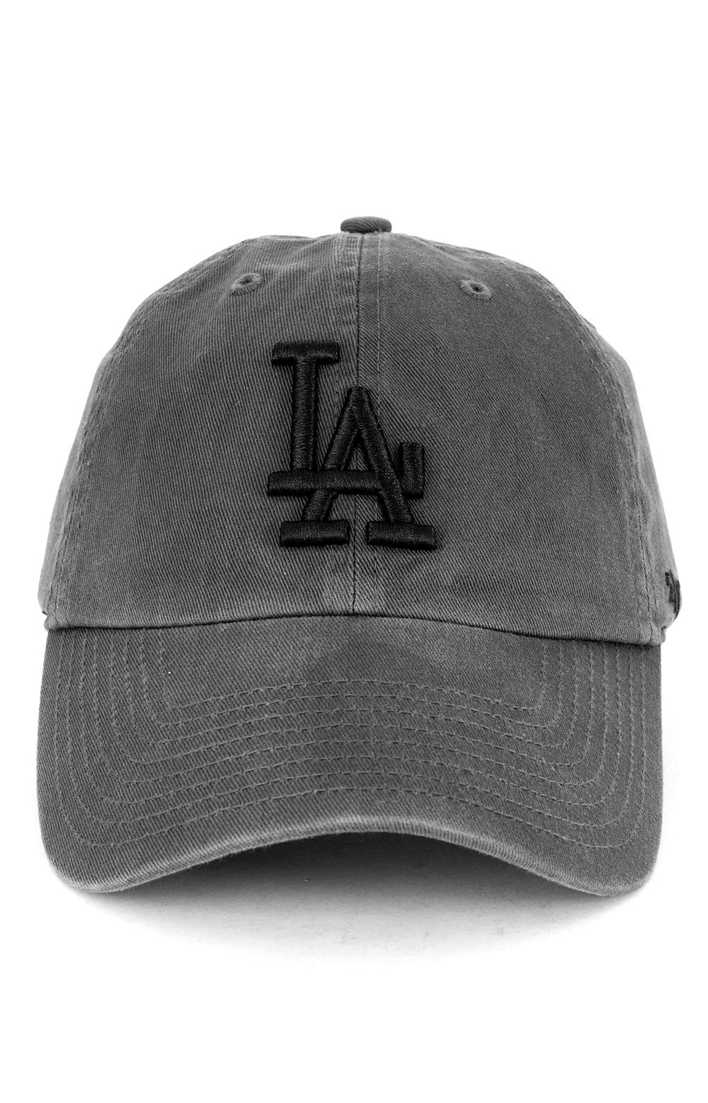 Los Angeles Dodgers Clean Up Cap - Charcoal 2