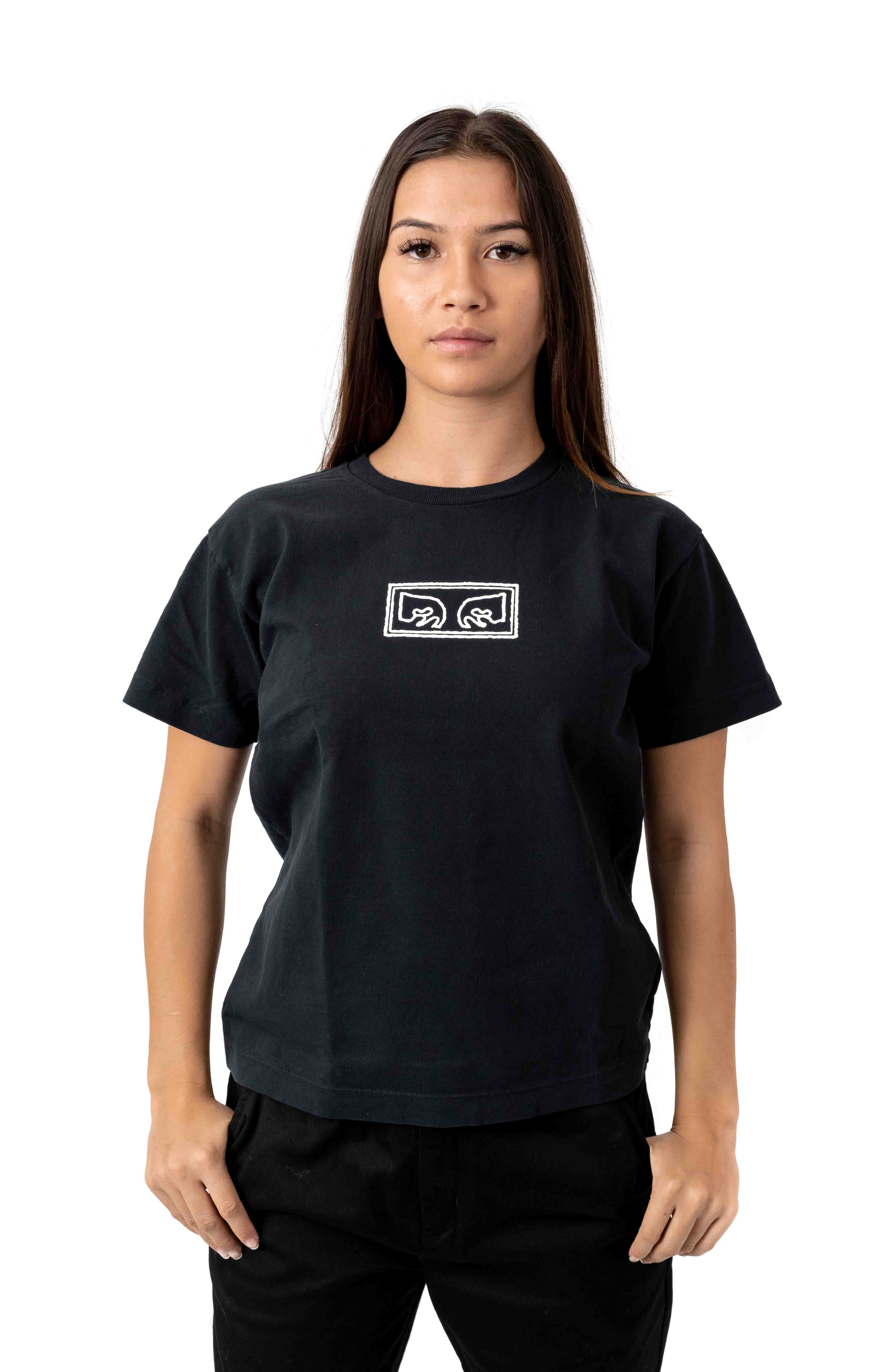 This Is An Obey T-Shirt - Off Black