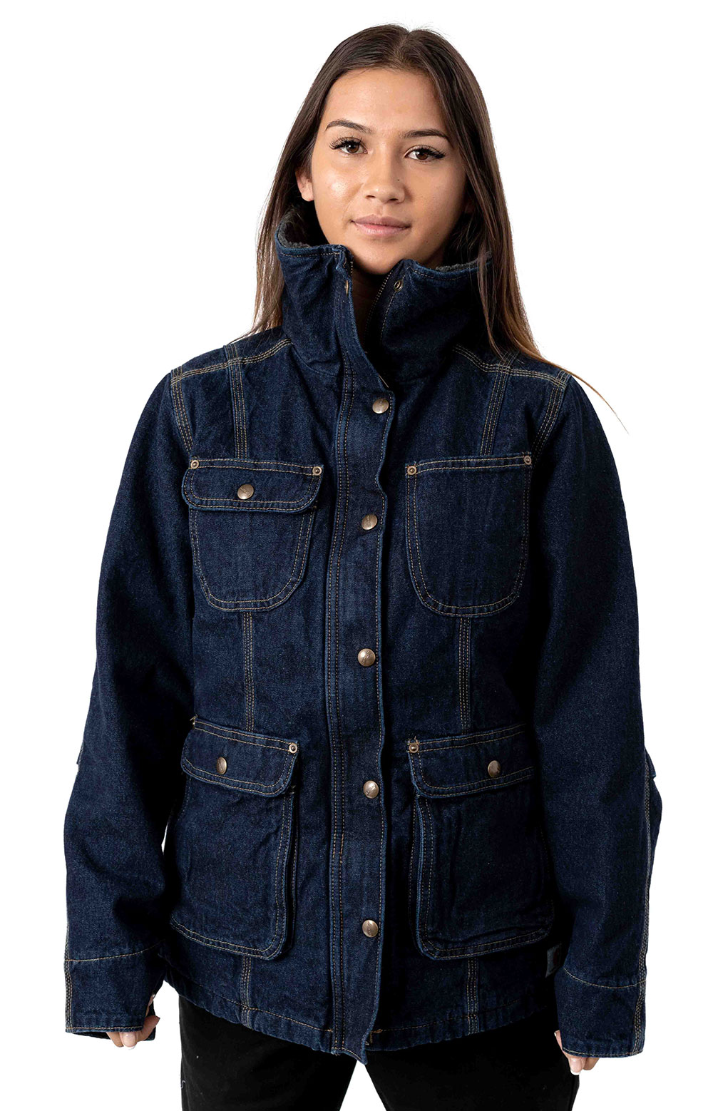(102247) Weathered Duck Wesley Coat - Heritage Blue