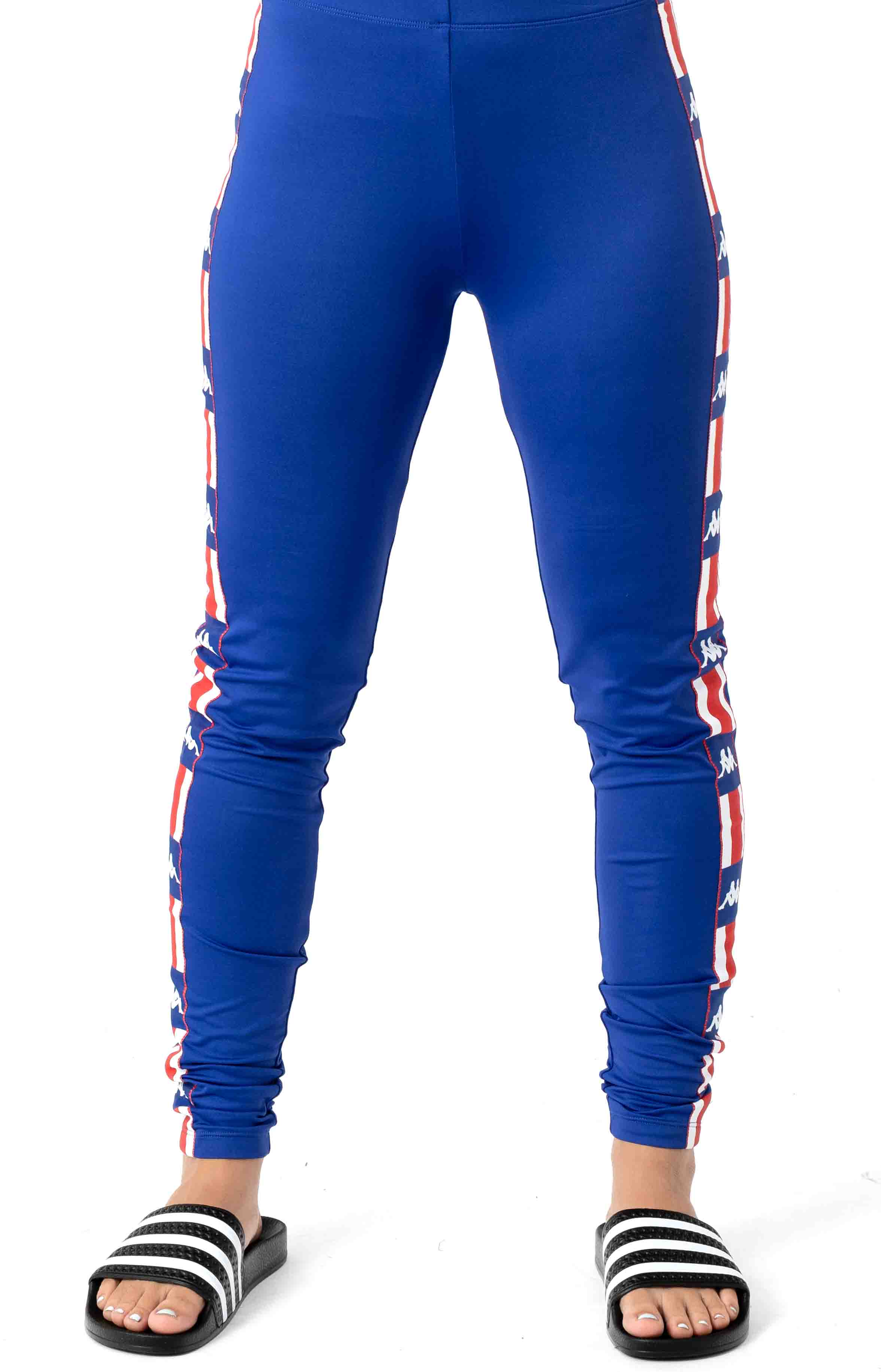 Authentic LA Baward Leggings - Blue/Blue 2