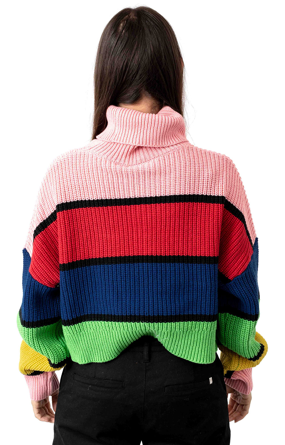 Bright Stripe Knitted Jumper  3