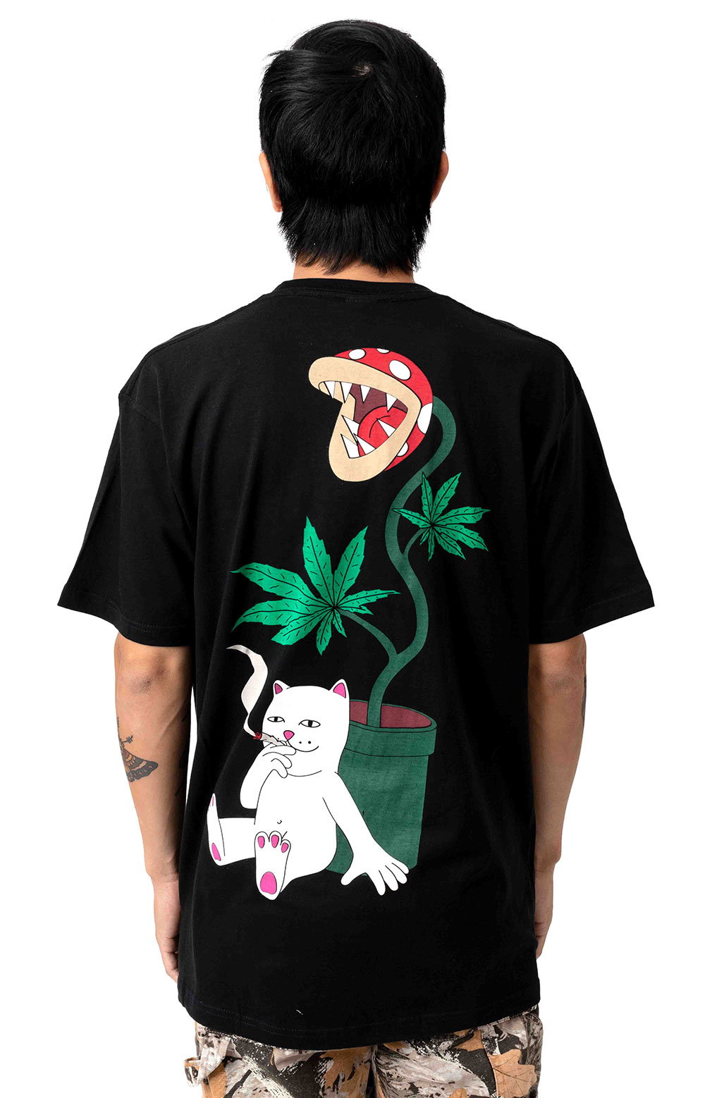Herb Eater Pocket T-Shirt - Black