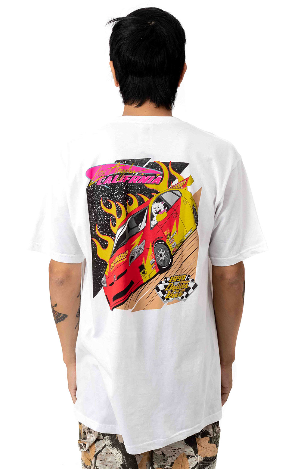 RIPNDIP Racing T-Shirt - White