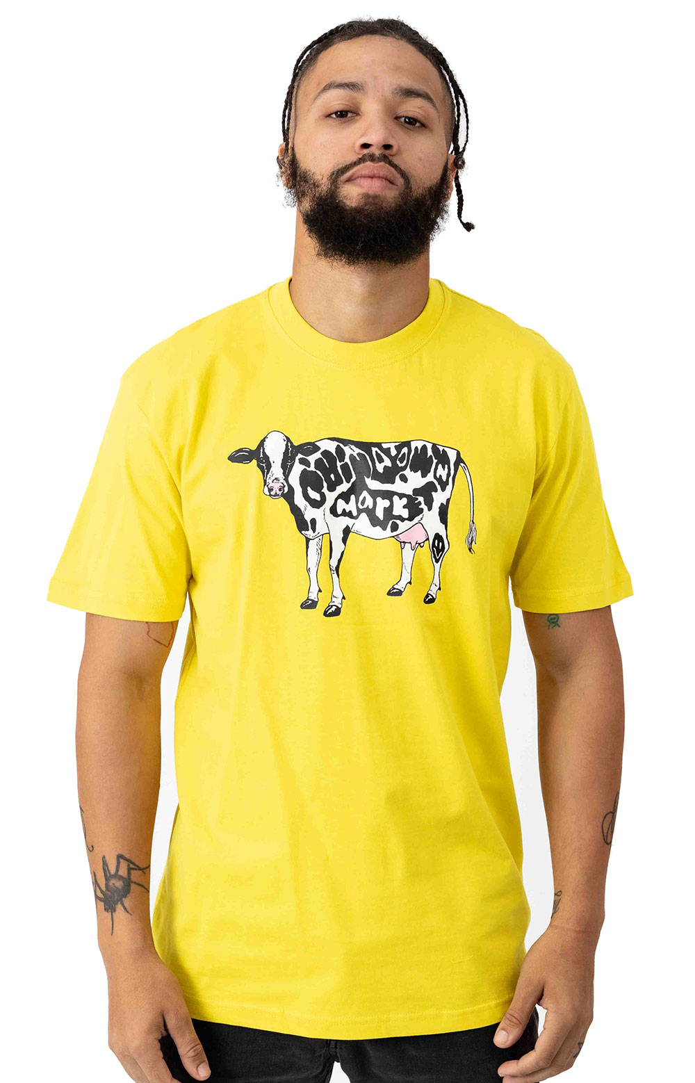 Cow T-Shirt - Yellow