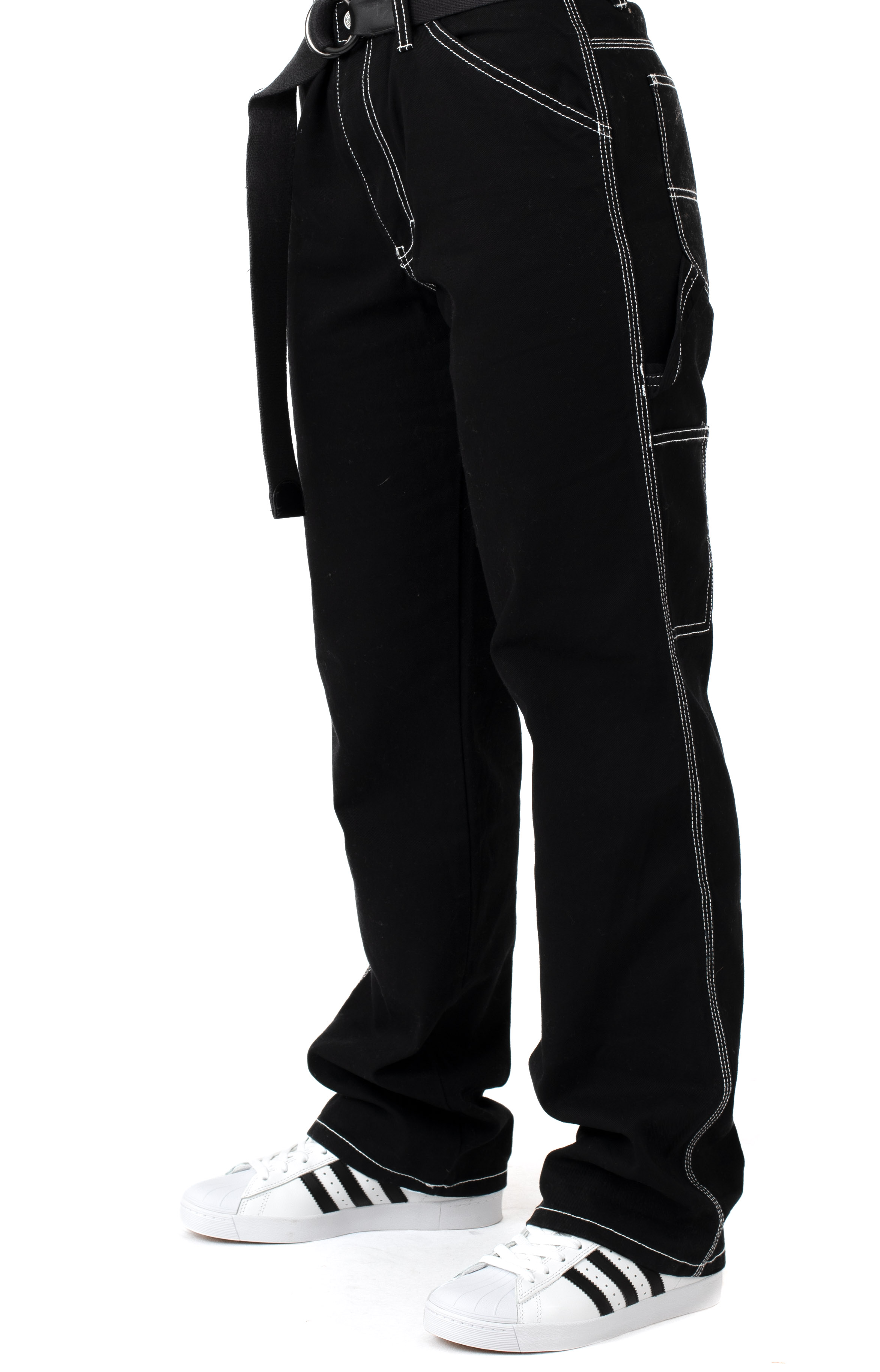 Carpenter Relaxed Fit Pant - Black
