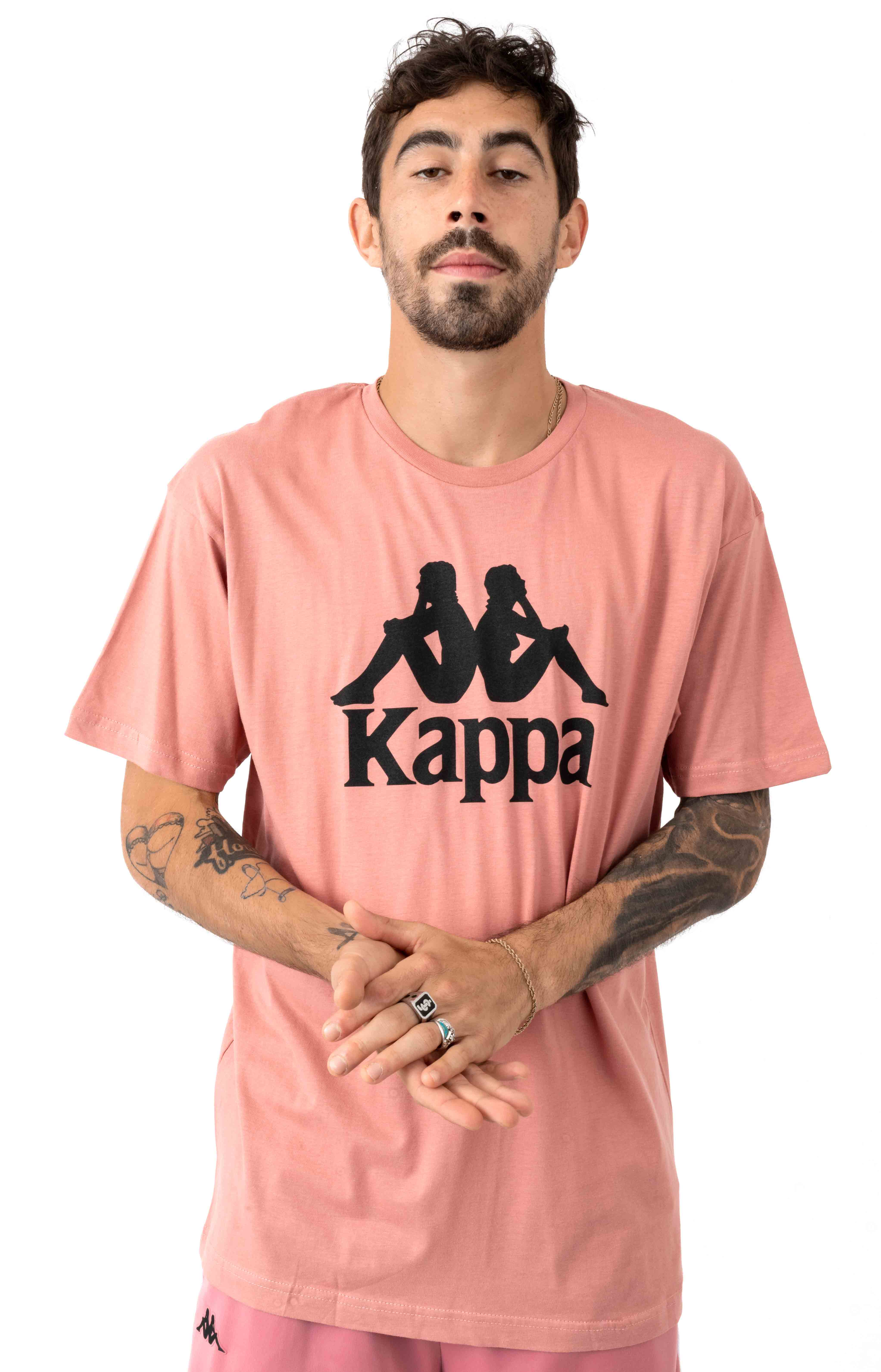 005b33c8 Kappa, Authentic Estessi T-Shirt - Pink | MLTD