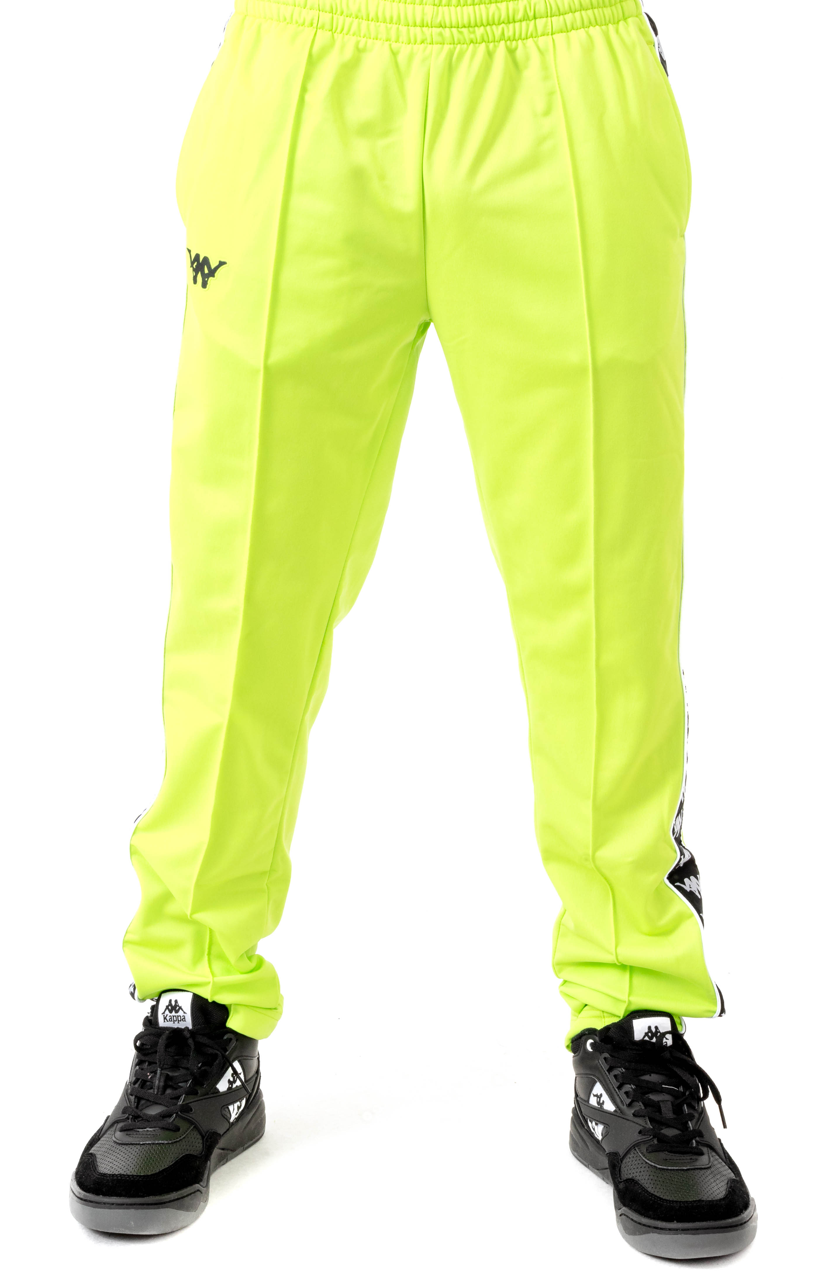 Authentic Bacile Track Pants - Green Lime 2