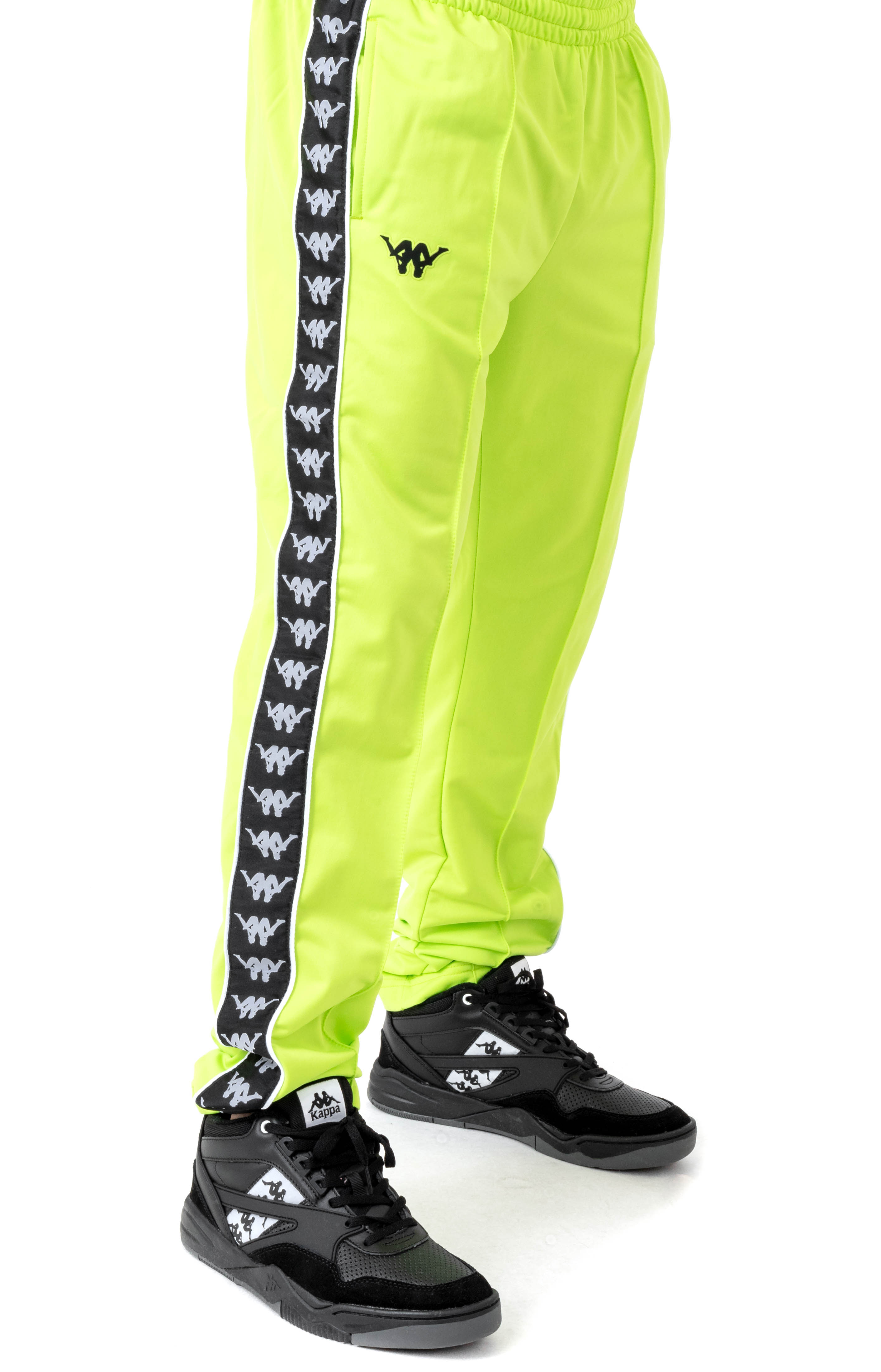 Authentic Bacile Track Pants - Green Lime
