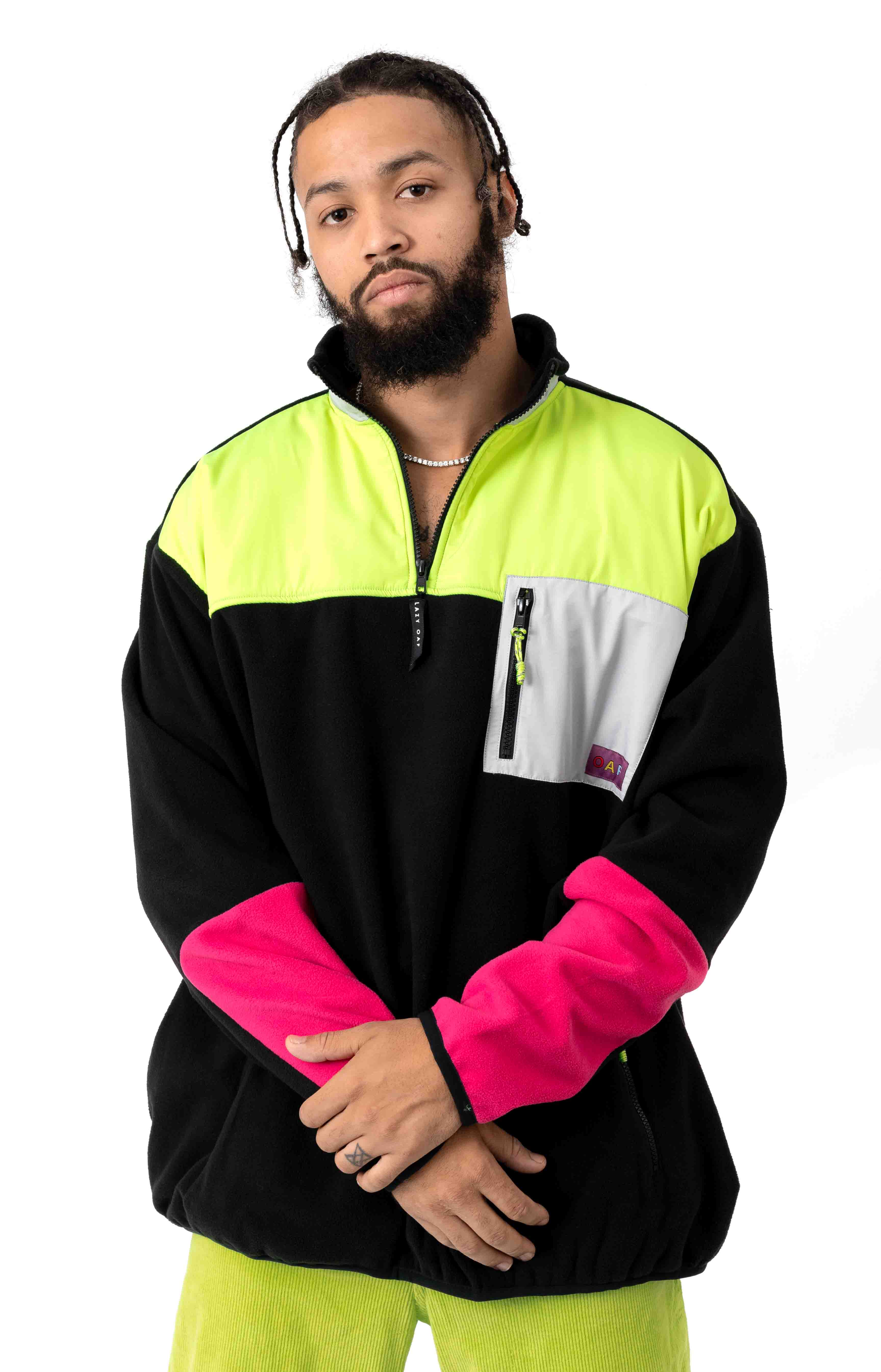 Game Over Panel Fleece