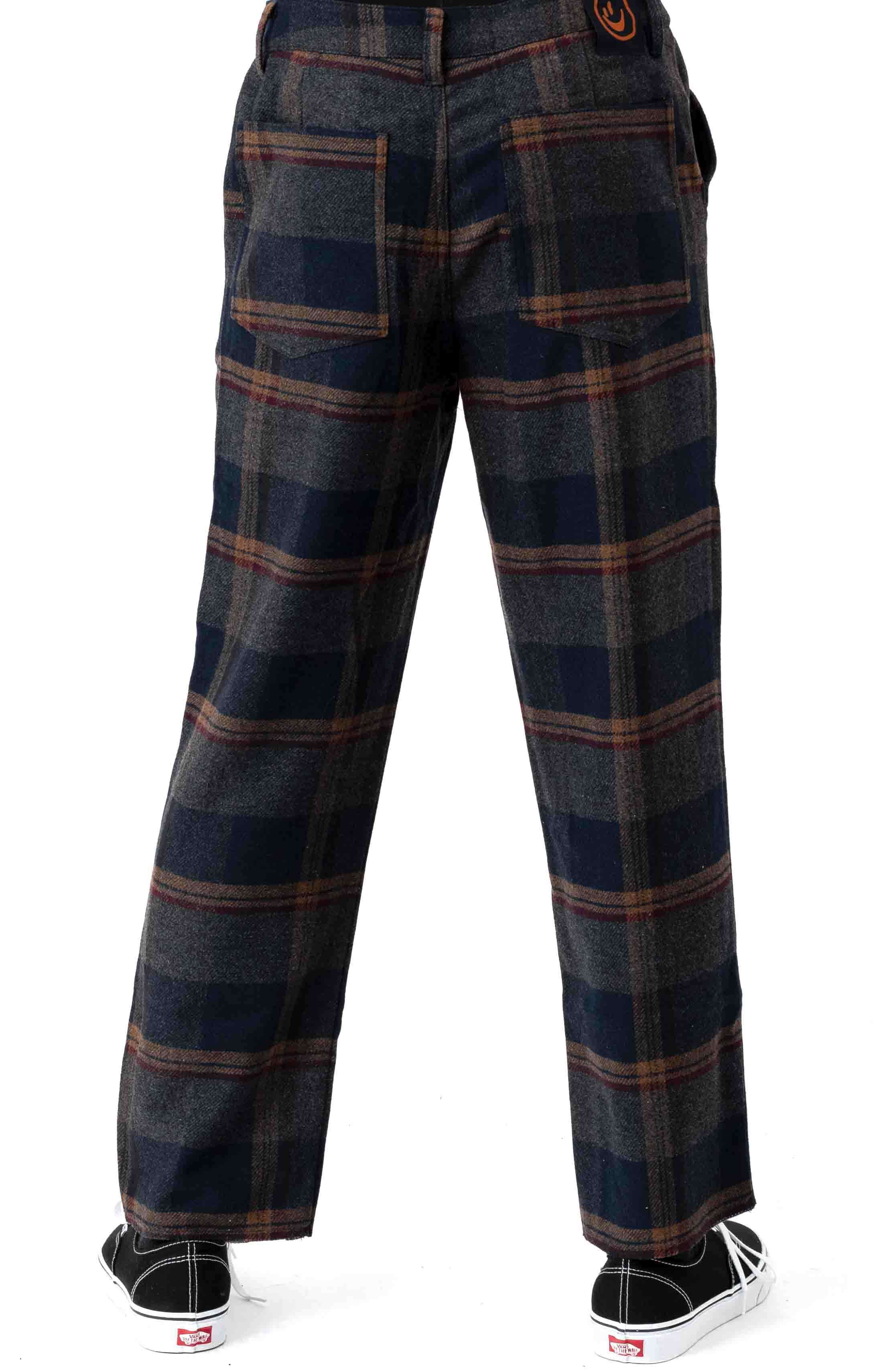 Here All Week Check Trousers  3