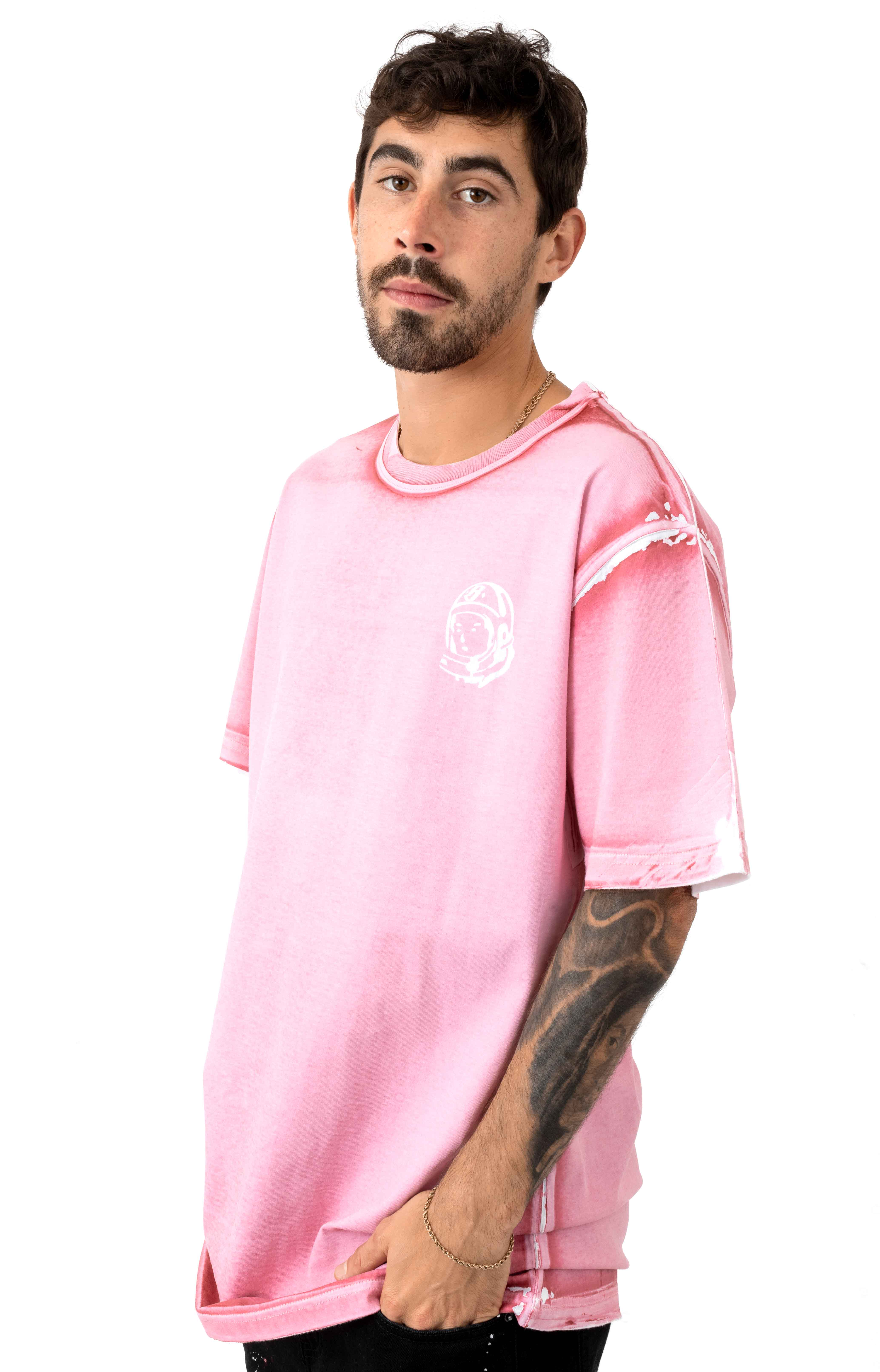 BB Panel Arch T-Shirt - Prism Pink