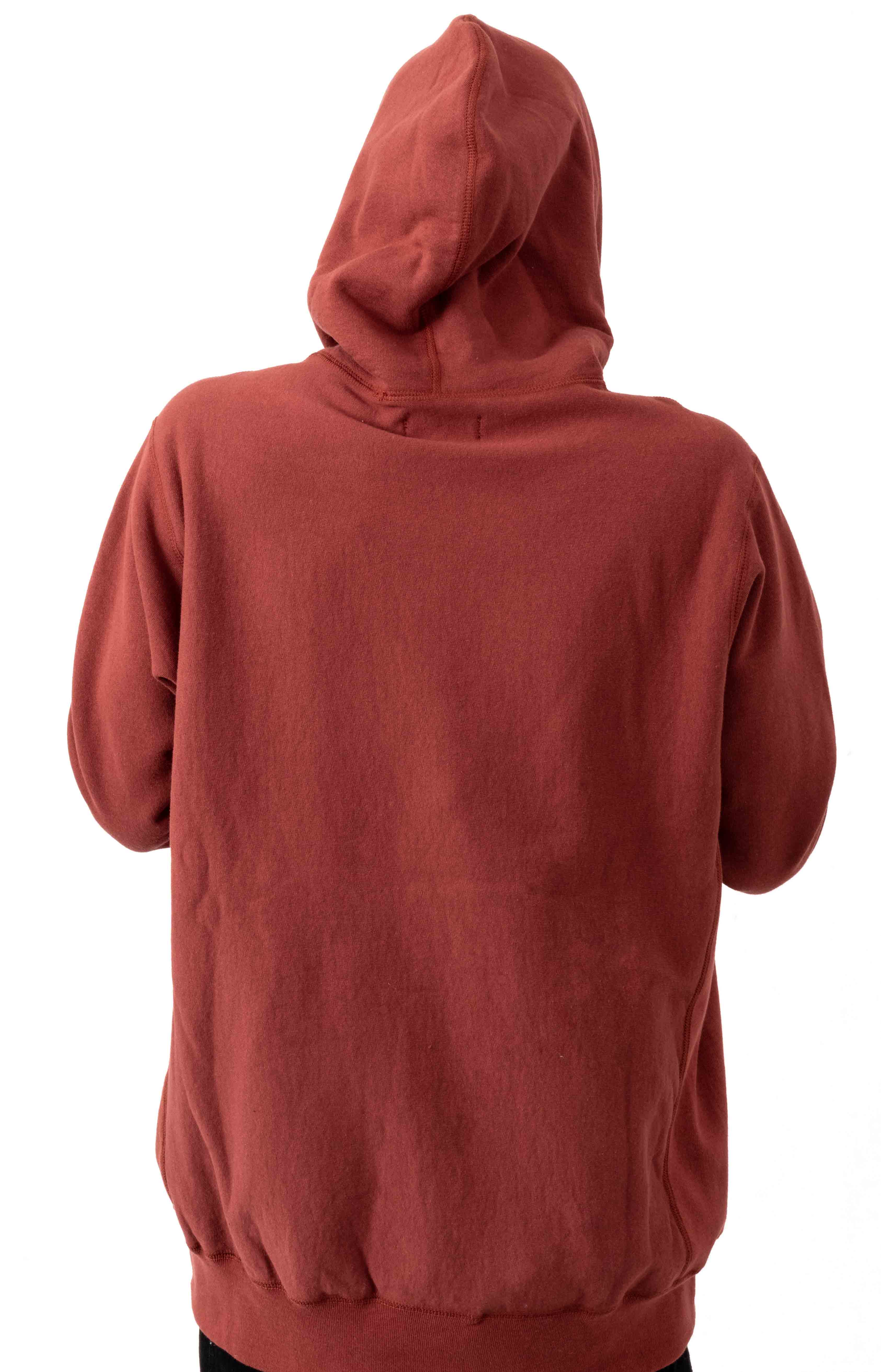 PVC Logo Pullover Hoodie - Congo Red 3